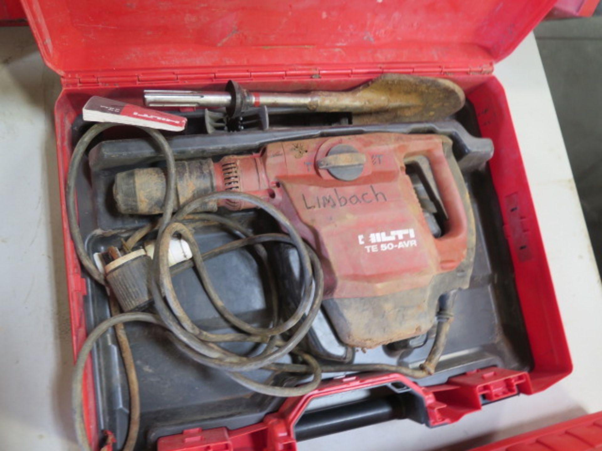 Hilti TE 50-AVR Hammer Drill (SOLD AS-IS - NO WARRANTY)