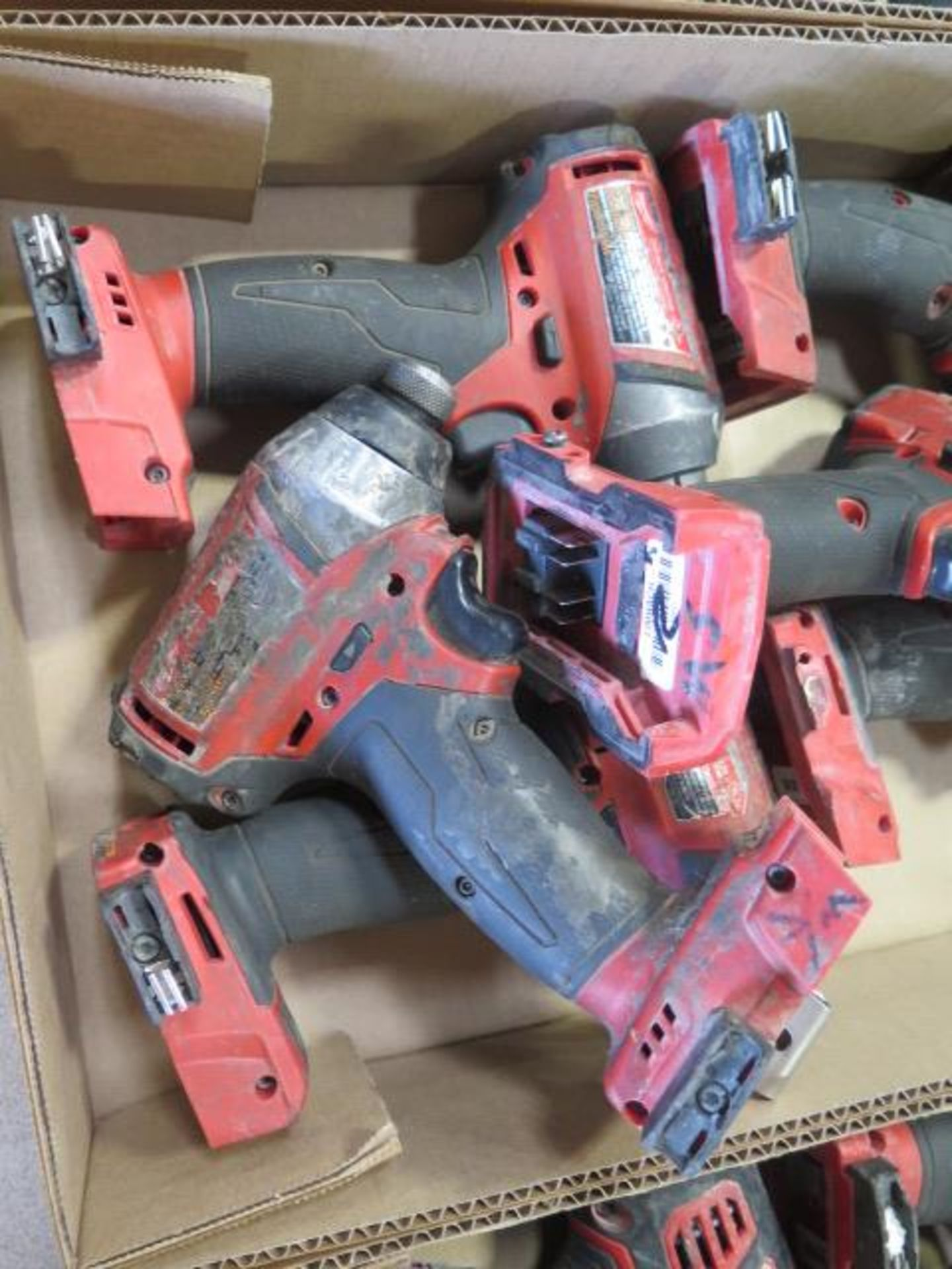 """Milwaukee 18 Volt 1/4"""" Nut Drivers (6) (SOLD AS-IS - NO WARRANTY) - Image 3 of 4"""
