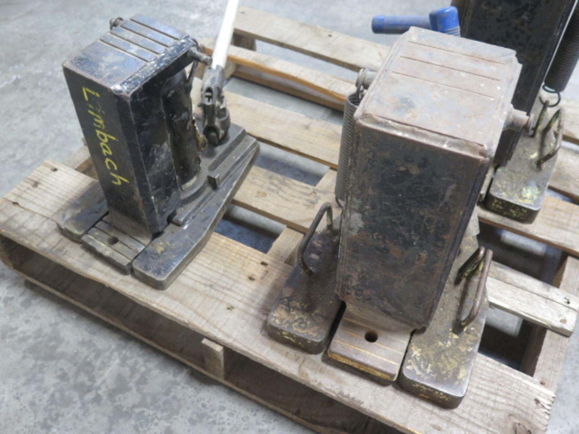 Simplex 10 Ton Hydrauic Machinery Jacks (2) and Omega 6 Ton Hydraulic Machinery Jack (SOLD AS-IS - - Image 5 of 7