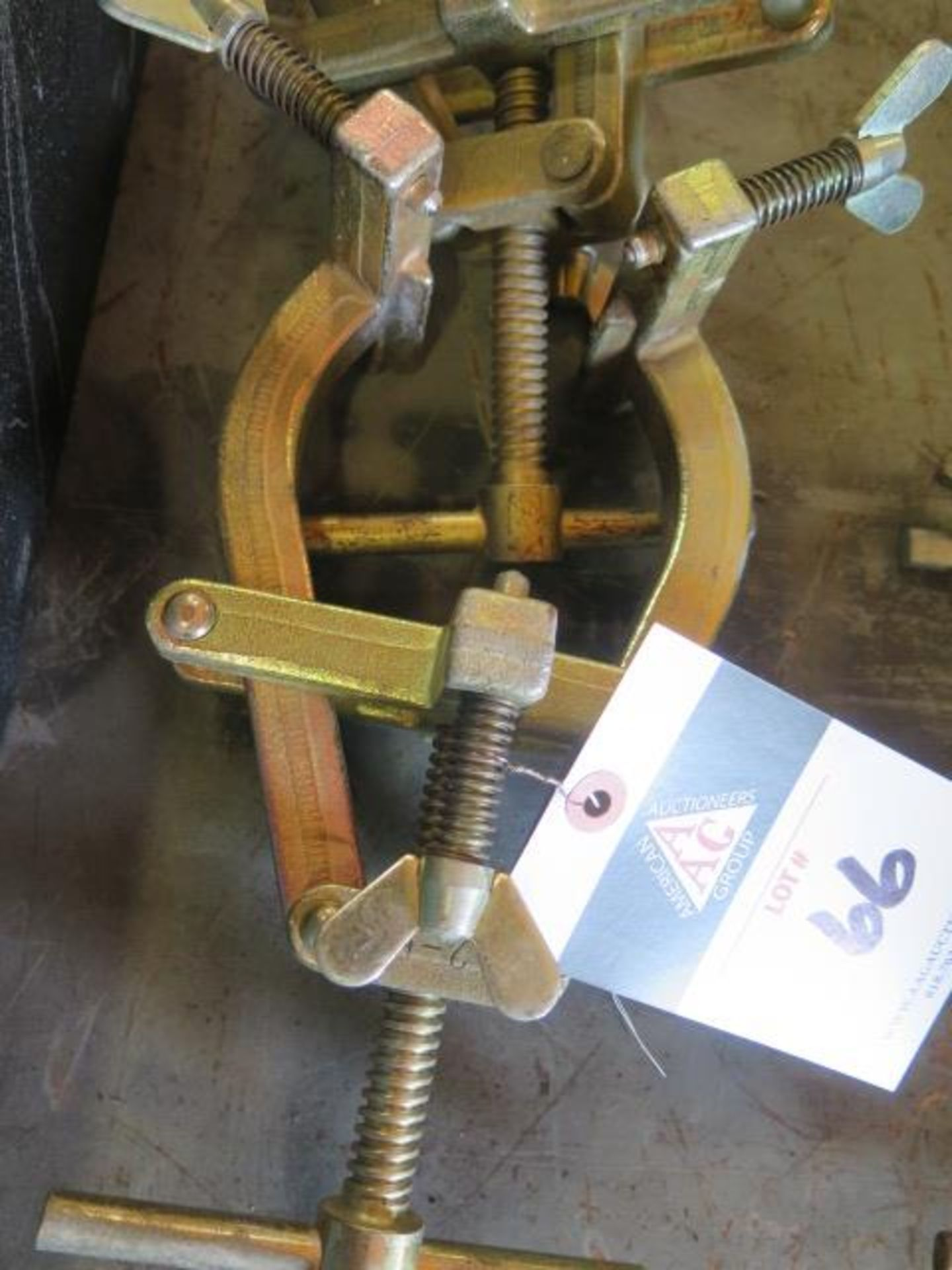 """2""""-5"""" Pipe Alignment Clamps (2) (SOLD AS-IS - NO WARRANTY) - Image 3 of 3"""