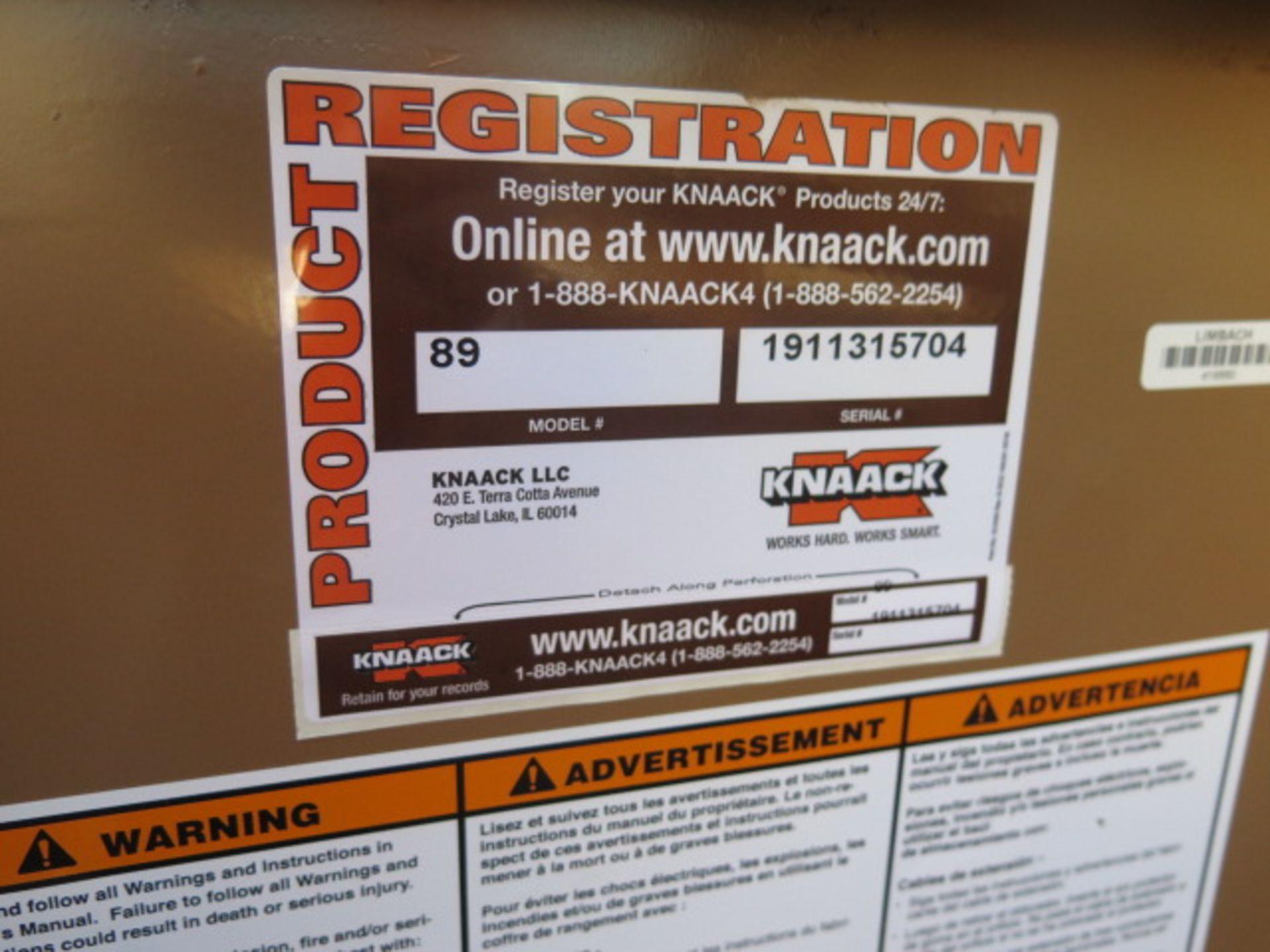 Knaack mdl. 89 Storagemaster Rolling Job Box (SOLD AS-IS - NO WARRANTY) - Image 11 of 11