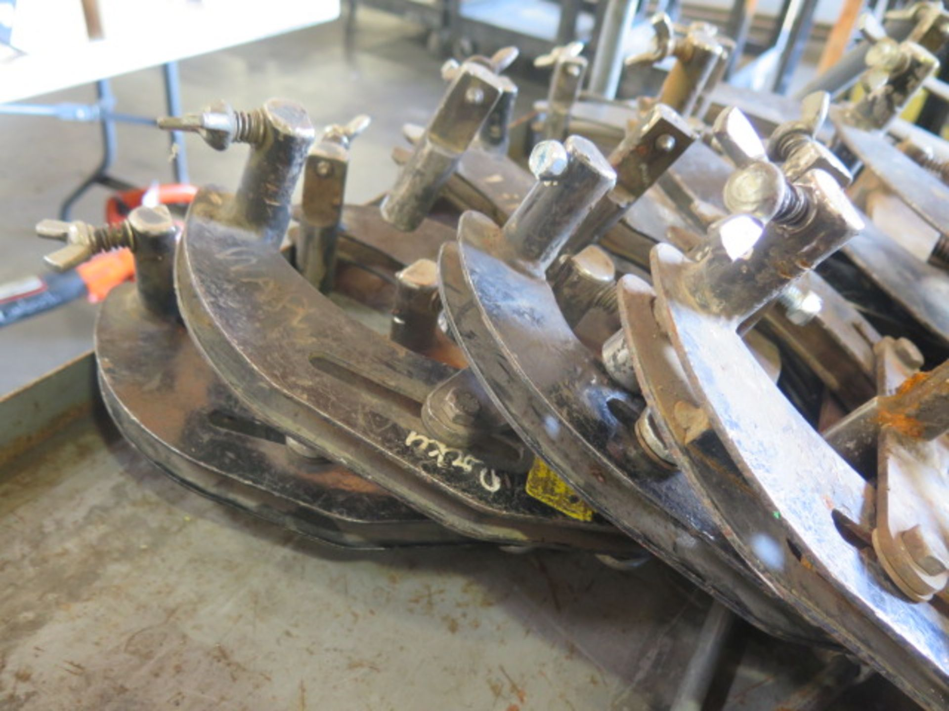 """2""""-6"""" Pipe Alighment Clamps(5) (SOLD AS-IS - NO WARRANTY) - Image 4 of 5"""