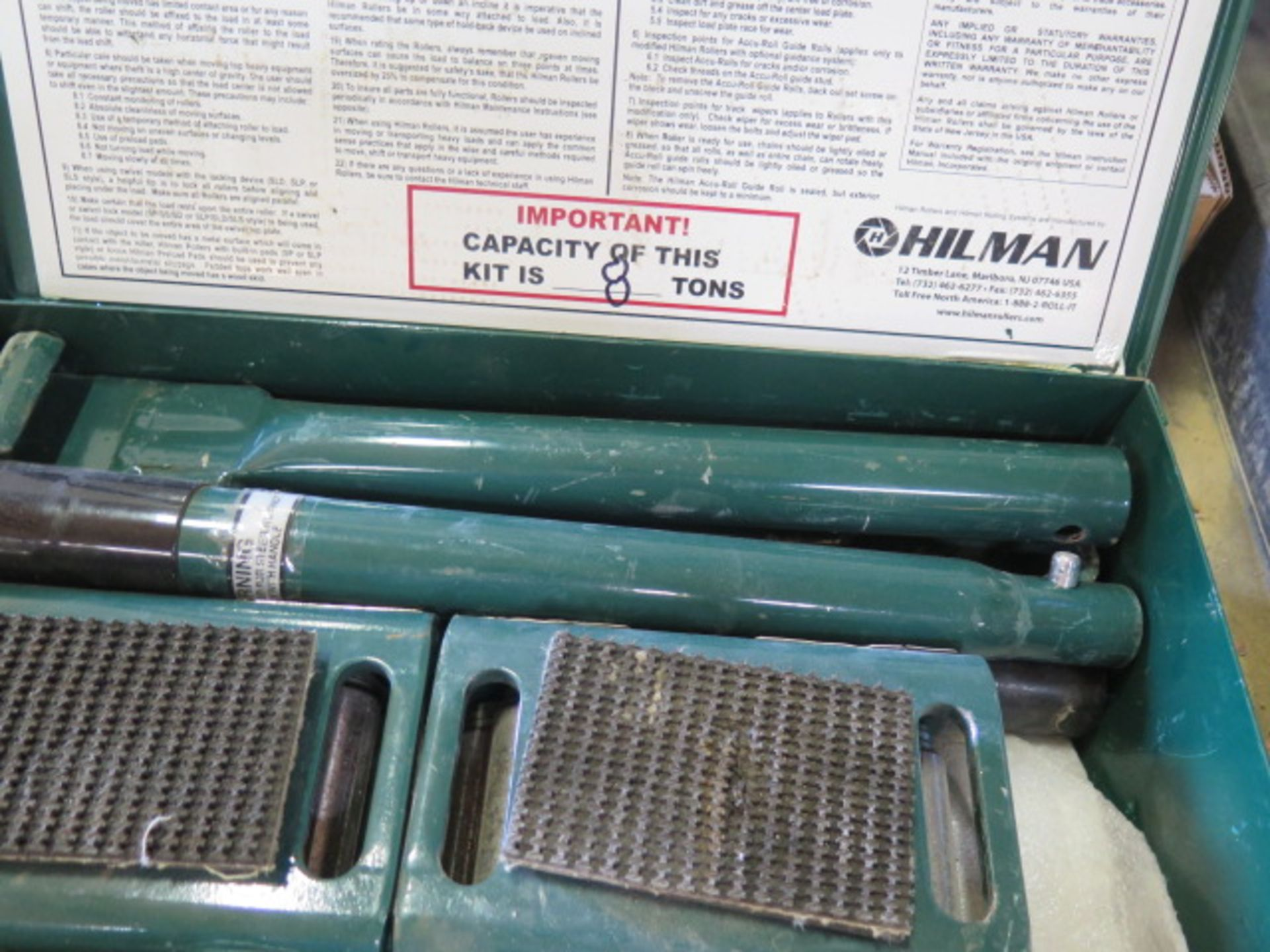 Hilman 8-Ton Machinery Dolley Set (SOLD AS-IS - NO WARRANTY) - Image 8 of 8