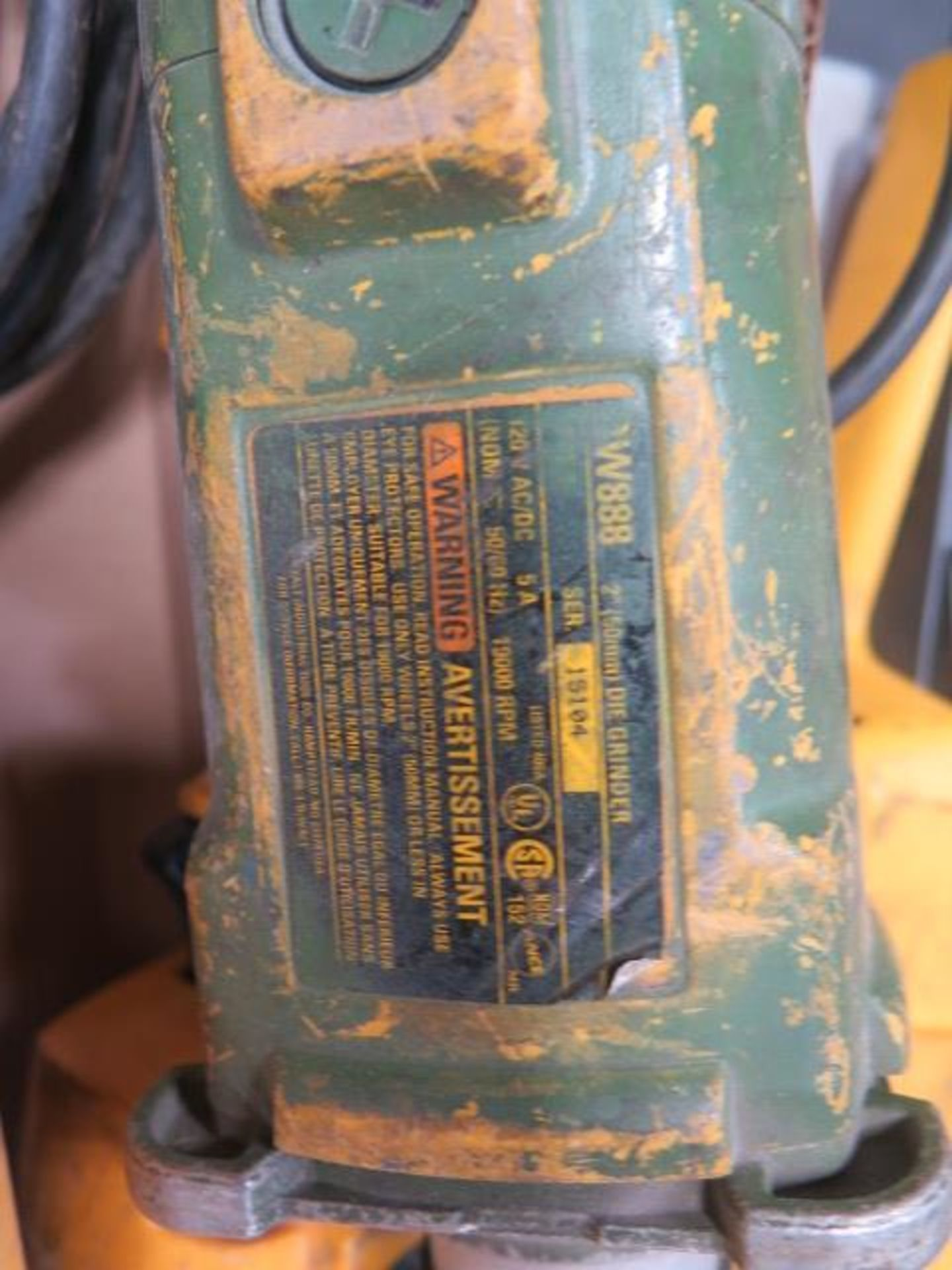 Milwaukee Straight Shaft Grinders (4) (SOLD AS-IS - NO WARRANTY) - Image 4 of 4