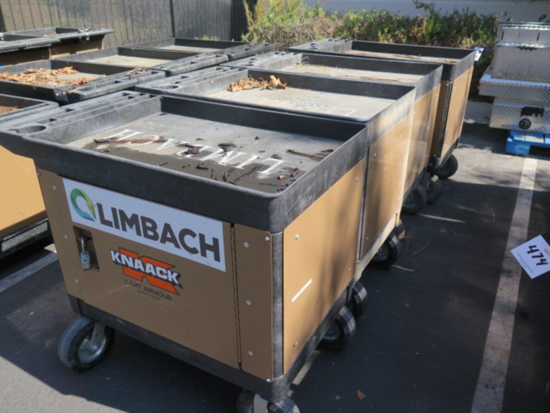 "Knaack ""Cart Armour"" Job Carts (4) (SOLD AS-IS - NO WARRANTY)"