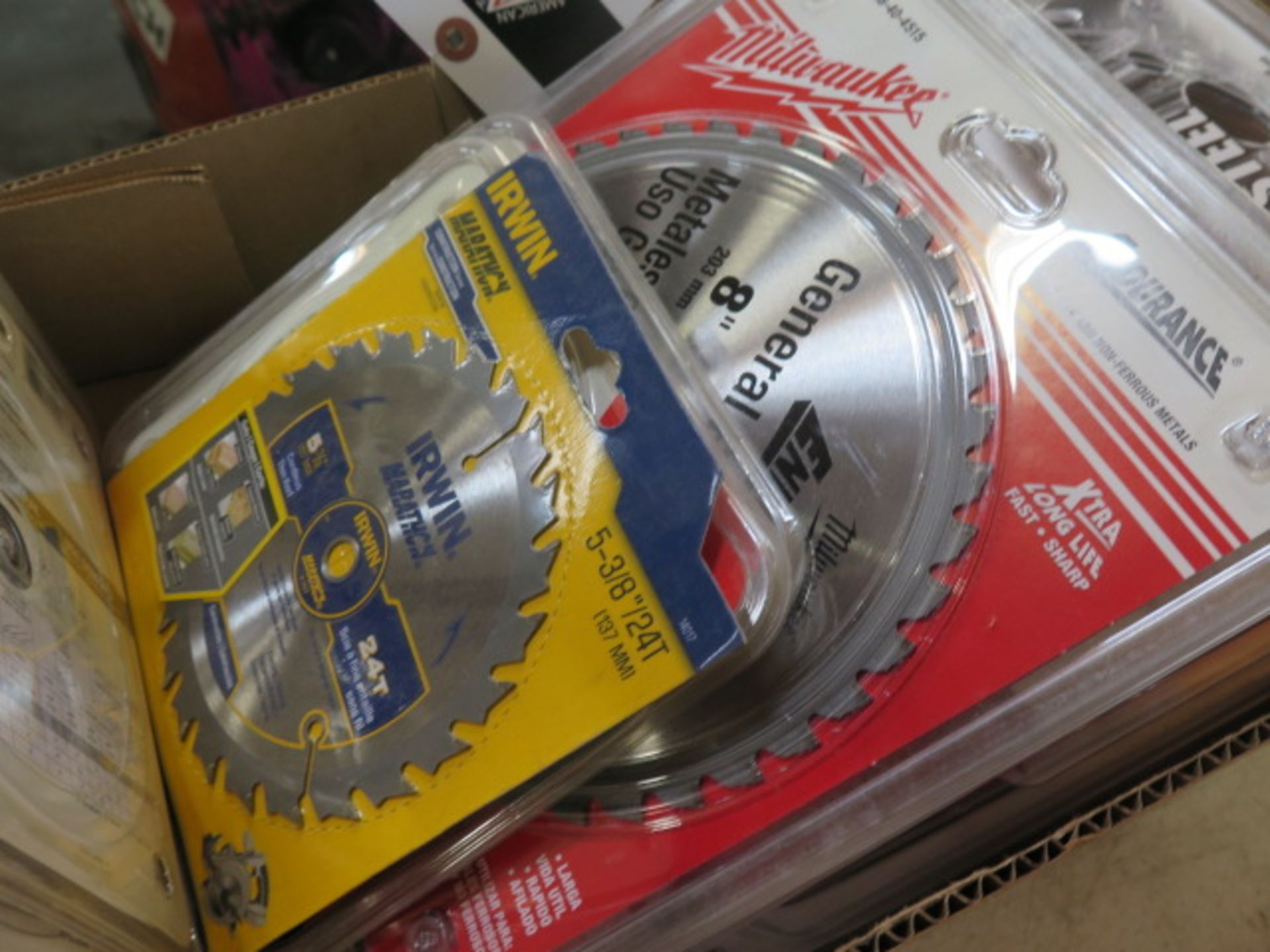 """5 3/8"""" to 8"""" Saw Blades (SOLD AS-IS - NO WARRANTY) - Image 4 of 10"""