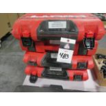Hilti DX351BT Powder Actuated Guns (4) (SOLD AS-IS - NO WARRANTY)