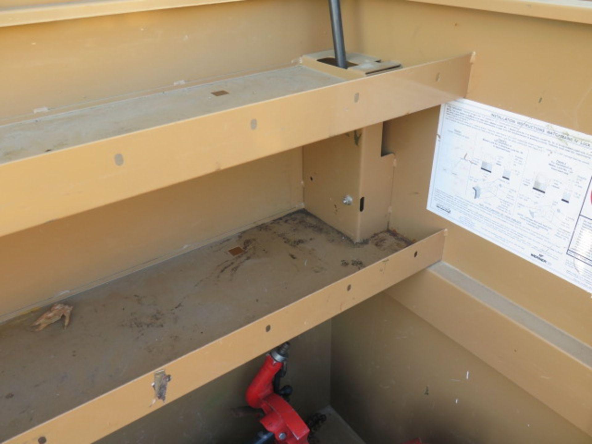 Knaack mdl. 89 Storagemaster Rolling Job Box w/ Ridgid Tri-Stands (SOLD AS-IS - NO WARRANTY) - Image 7 of 11