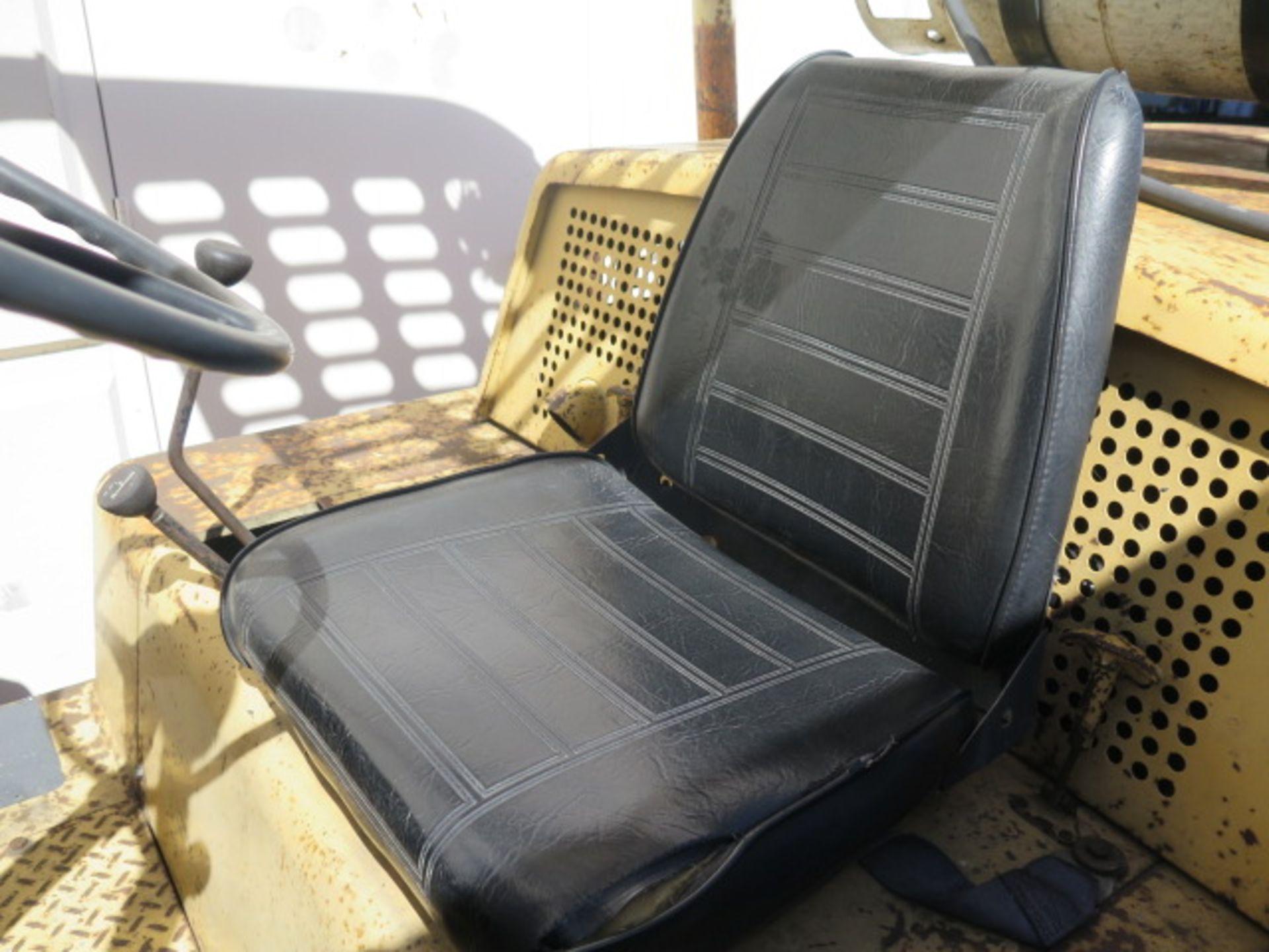 "Hyster S125A 12,500 Lb Cap LPG Forklift s/n A024DC4389A w/ 2-Stage Mast, 129"" Lift Height, 2-Speed T - Image 12 of 14"