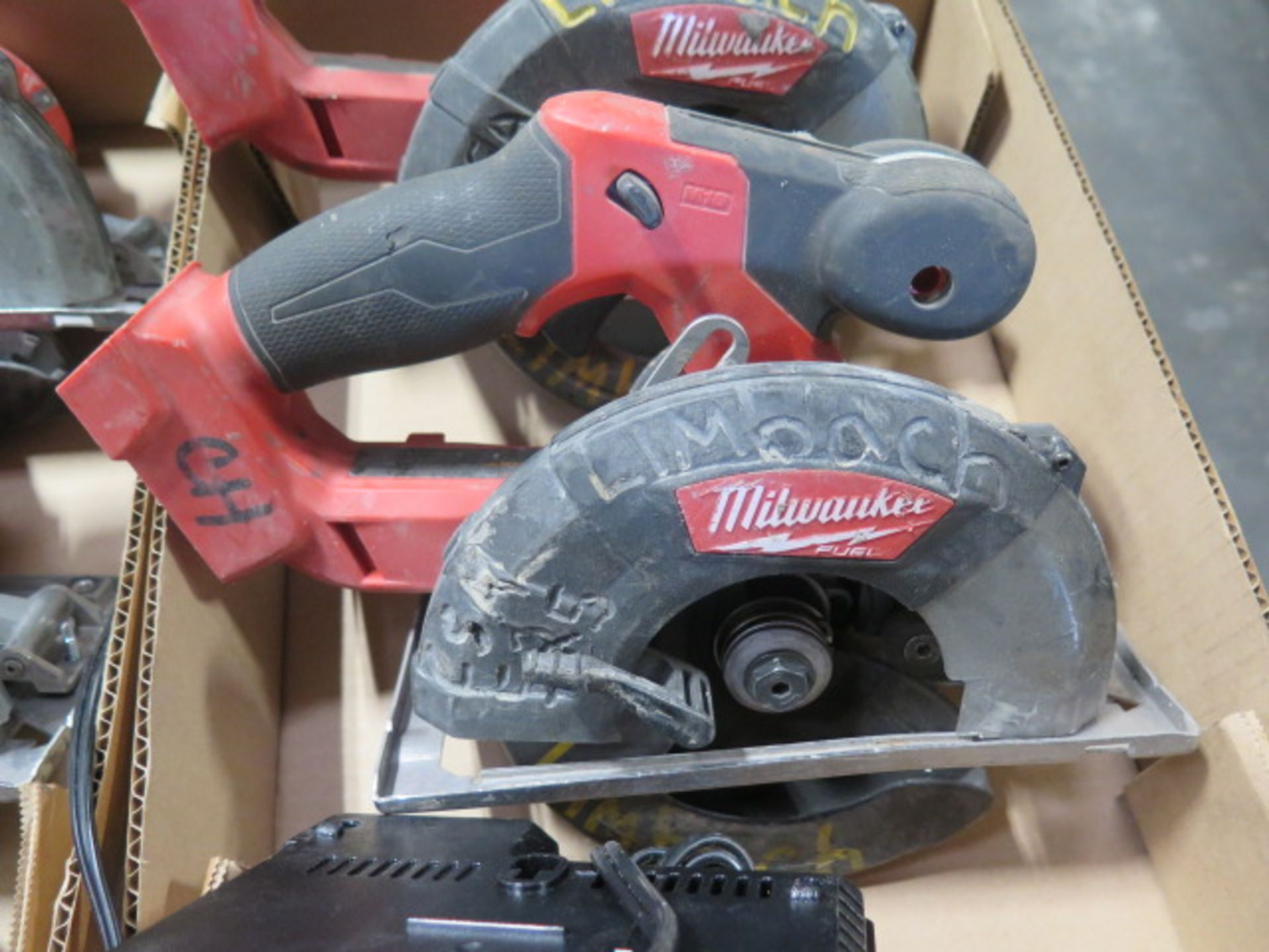 Milwaukee 18 Volt Circular Saws (2) (SOLD AS-IS - NO WARRANTY) - Image 4 of 5