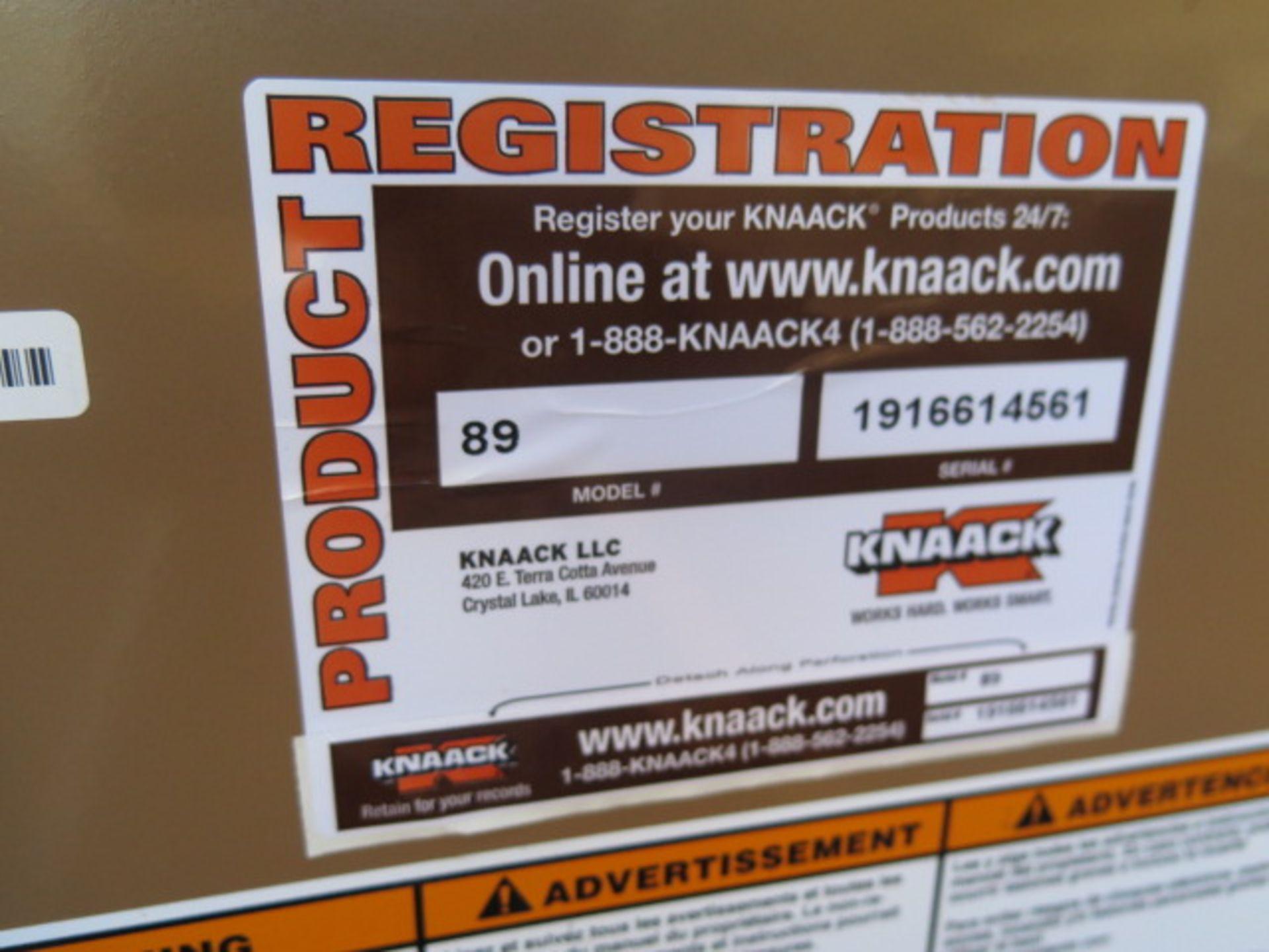 Knaack mdl. 89 Storagemaster Rolling Job Box w/ Come-Alongs (SOLD AS-IS - NO WARRANTY) - Image 12 of 12