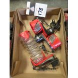 Milwaukee Dust Containment Units (3) (SOLD AS-IS - NO WARRANTY)