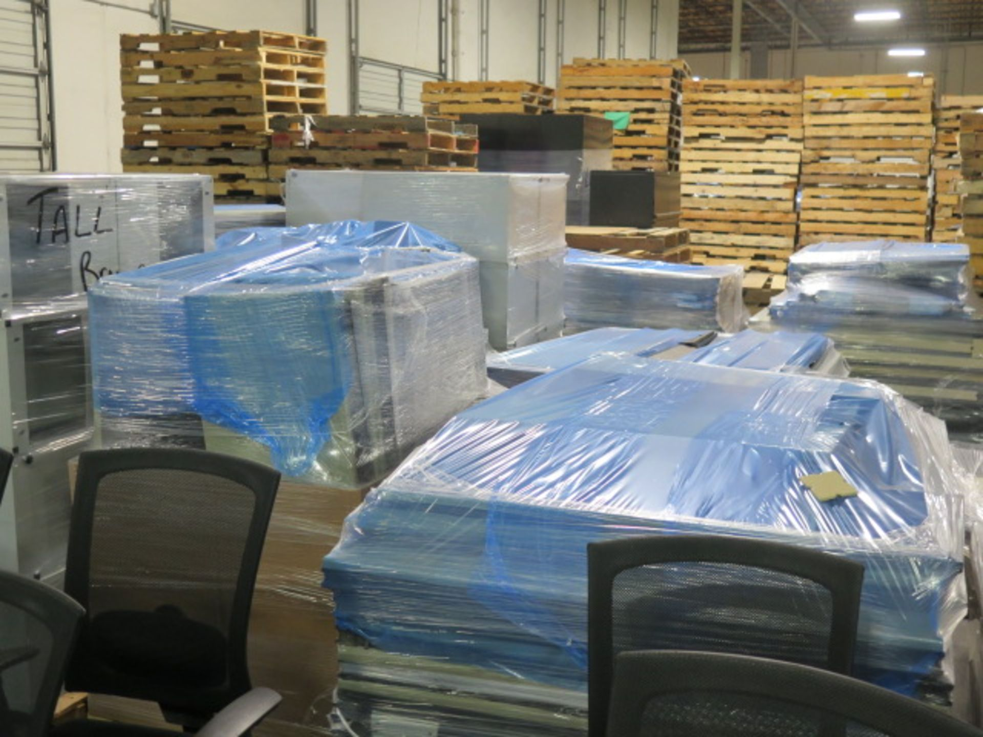 Large Quantity of Office Partitions, Desks, File Cabinets and Storage Cabinets (SOLD AS-IS - NO WARA - Image 24 of 24