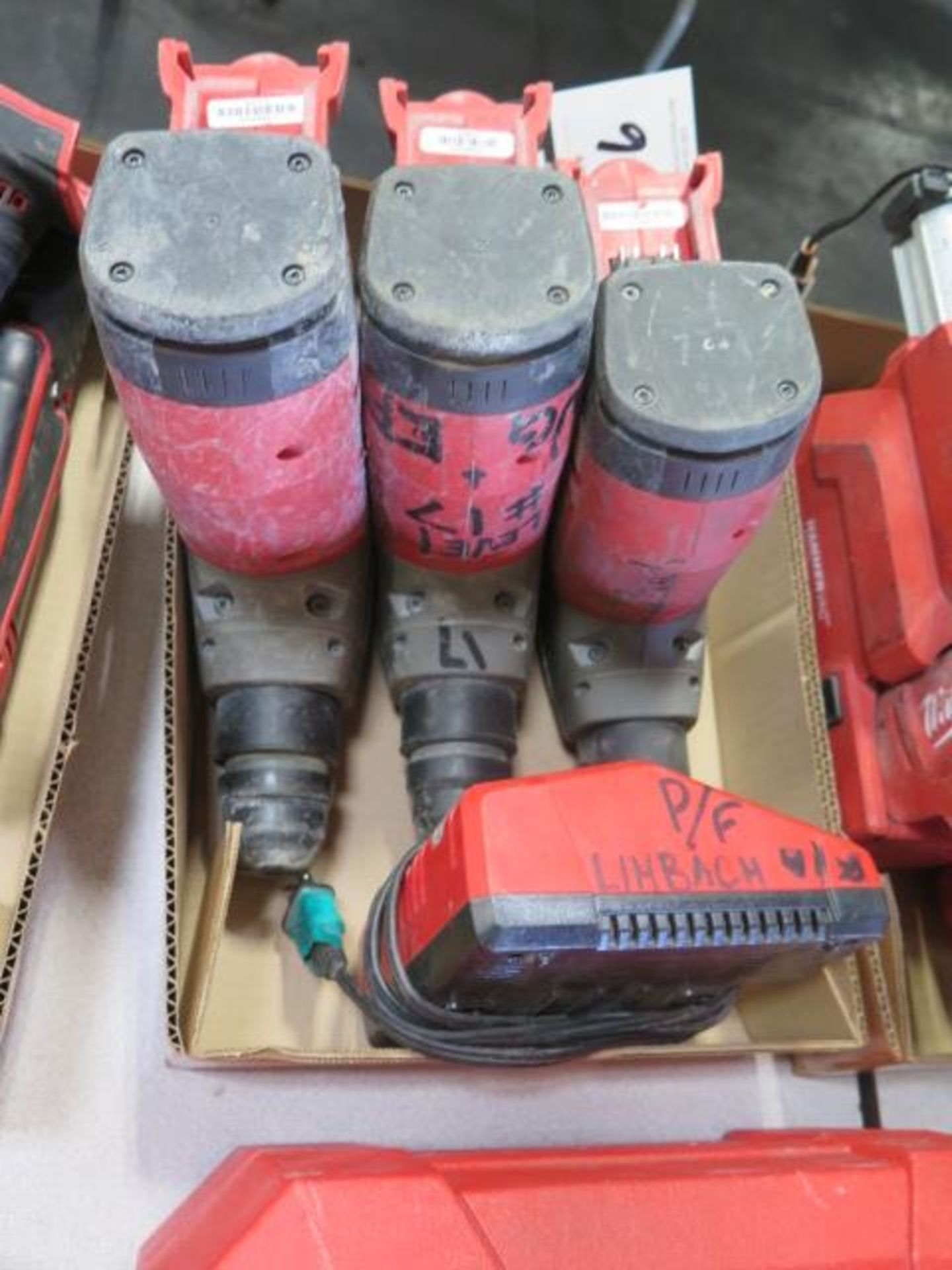 """Milwaukee 18 Volt 1 1/8"""" Rotary Hammers (3) (SOLD AS-IS - NO WARRANTY) - Image 2 of 5"""