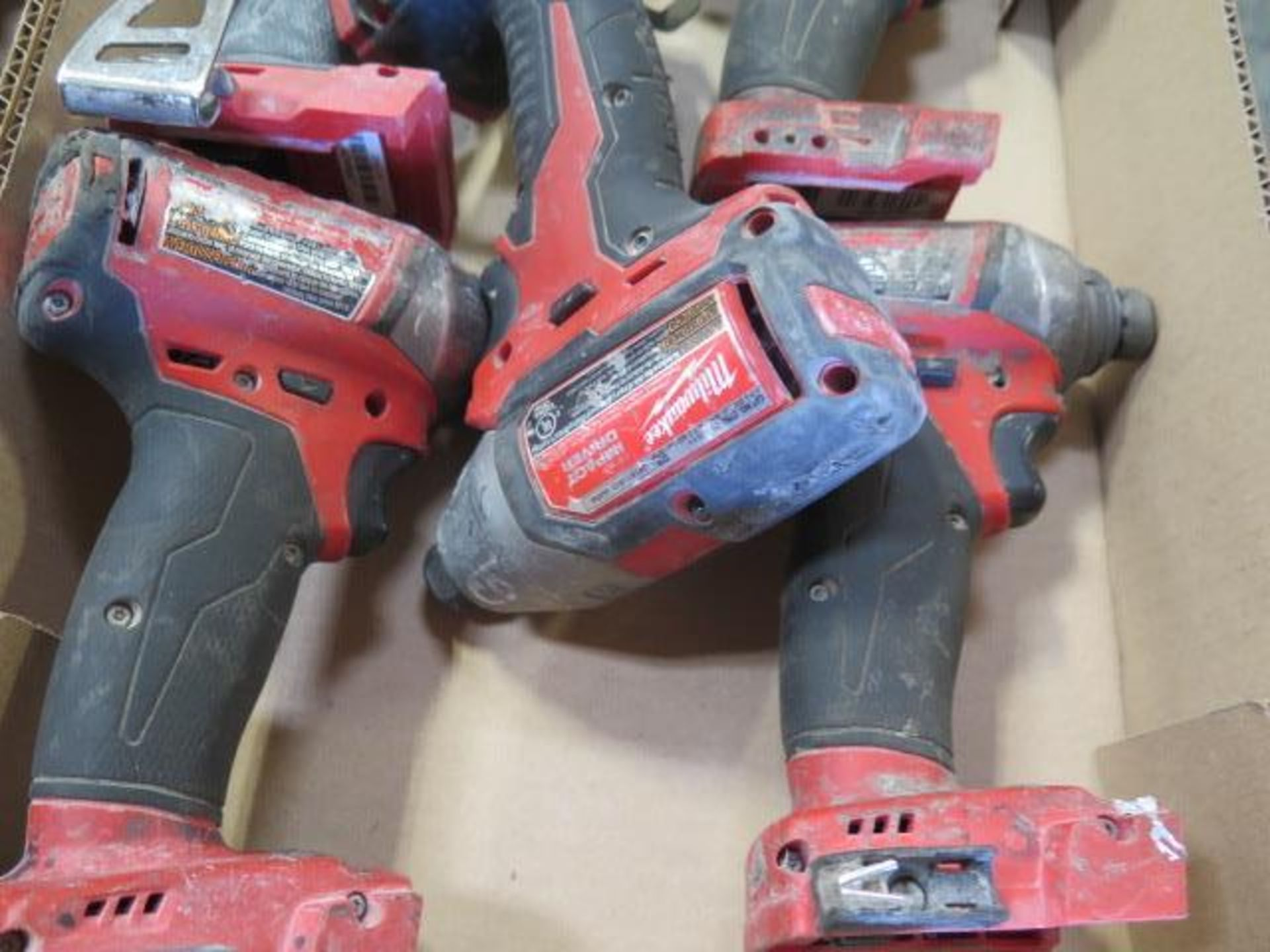"""Milwaukee 18 Volt 1/4"""" Nut Drivers (5) (SOLD AS-IS - NO WARRANTY) - Image 4 of 4"""