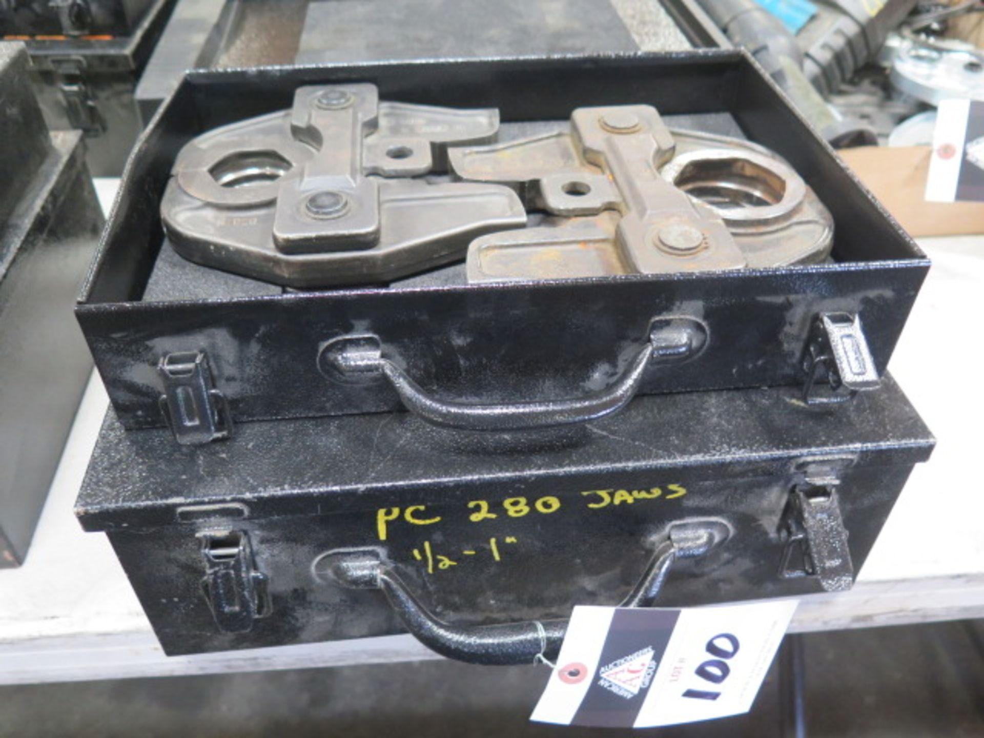 Nibco PC-16S and PC-17S Pressing Tool Jaw Sets (SOLD AS-IS - NO WARRANTY)