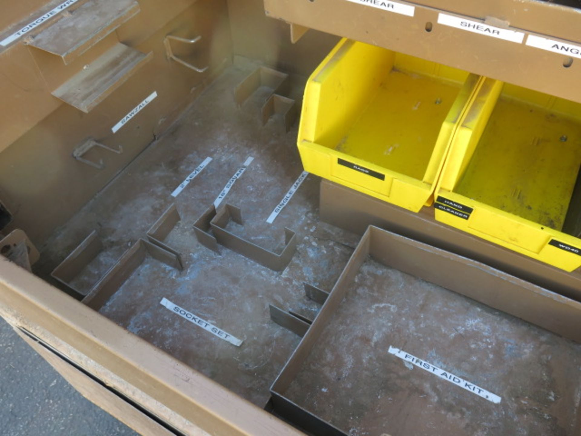 Knaack mdl. 89 Storagemaster Rolling Job Box (SOLD AS-IS - NO WARRANTY) - Image 7 of 12