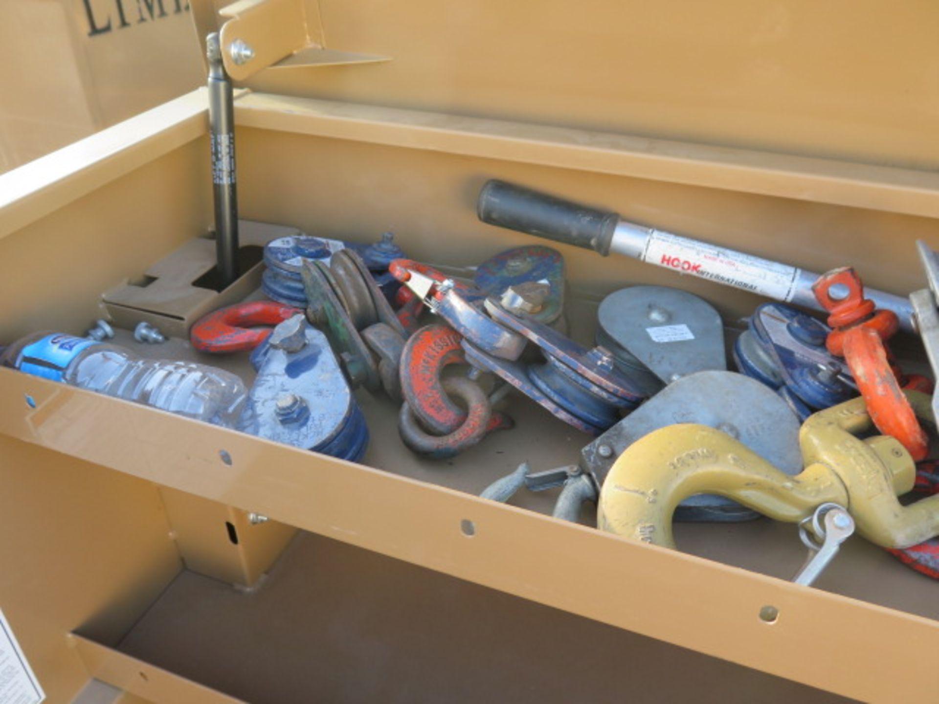 Knaack mdl. 89 Storagemaster Rolling Job Box w/ Come-Alongs (SOLD AS-IS - NO WARRANTY) - Image 5 of 12