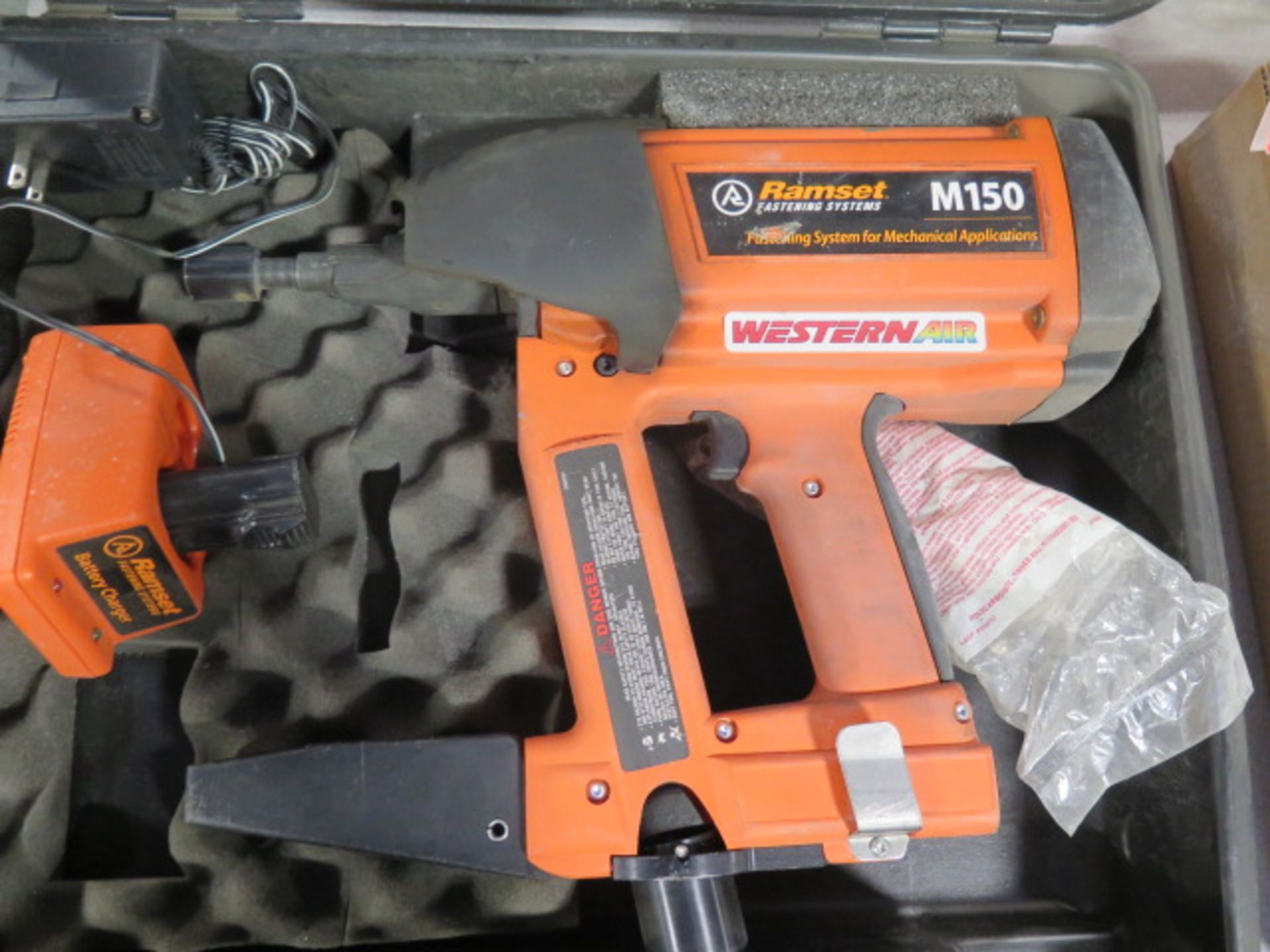 Ramset mdl. M150 Gss Powered Piston Type Fastening Gun w/ Magazine Feed (SOLD AS-IS - NO WARRANTY) - Image 2 of 5