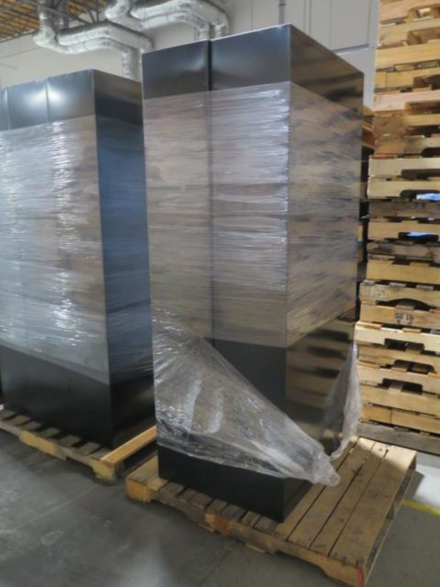 Large Quantity of Office Partitions, Desks, File Cabinets and Storage Cabinets (SOLD AS-IS - NO WARA - Image 11 of 24