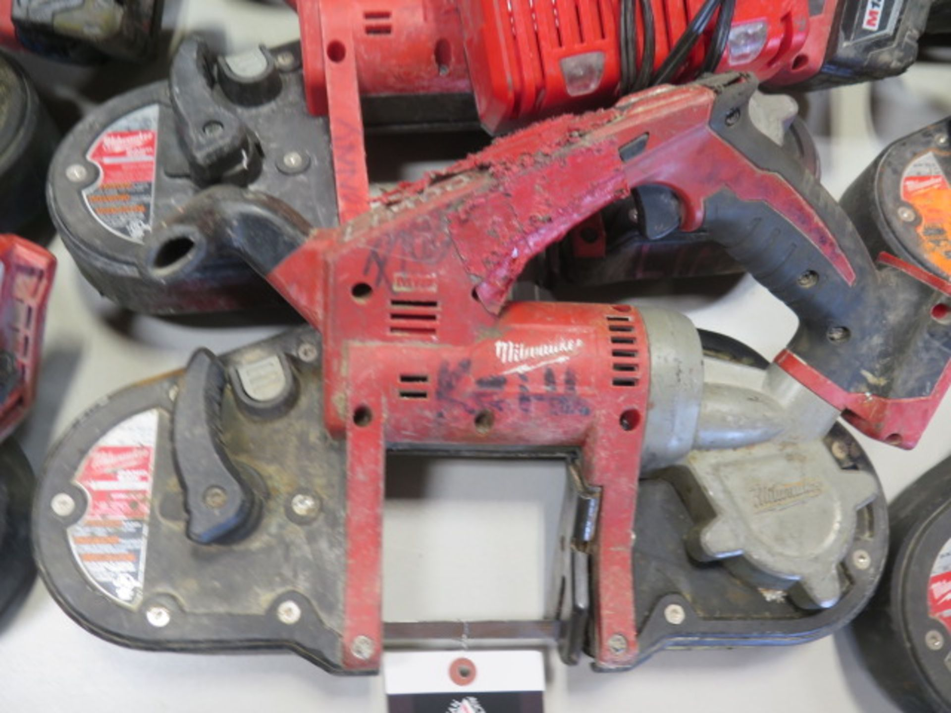 Milwaukee 18 Volt Compact Portable Band Saws (4) (SOLD AS-IS - NO WARRANTY) - Image 4 of 7