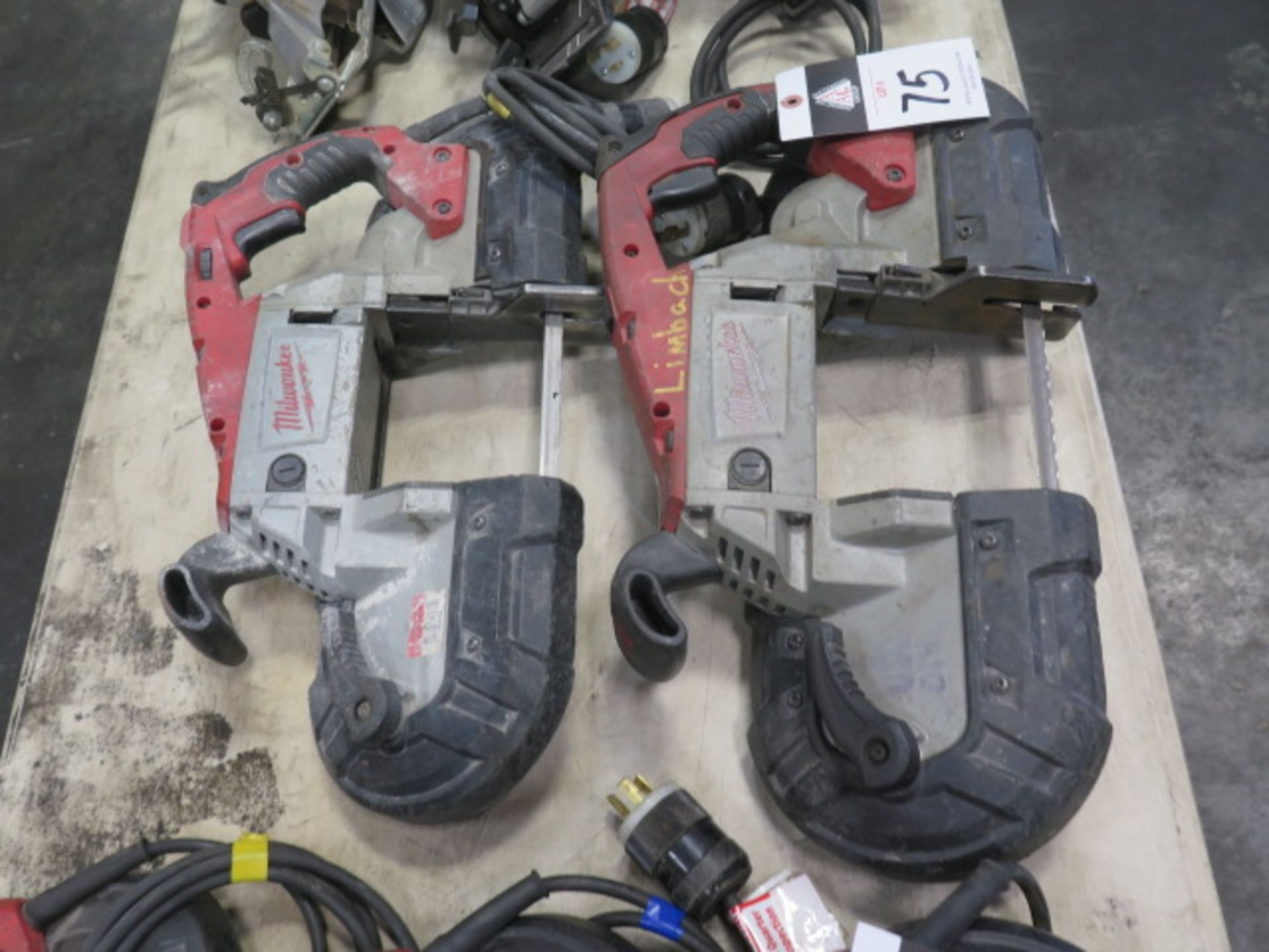 Milwaukee Deep Cut Band Saws (2) (SOLD AS-IS - NO WARRANTY) - Image 3 of 6