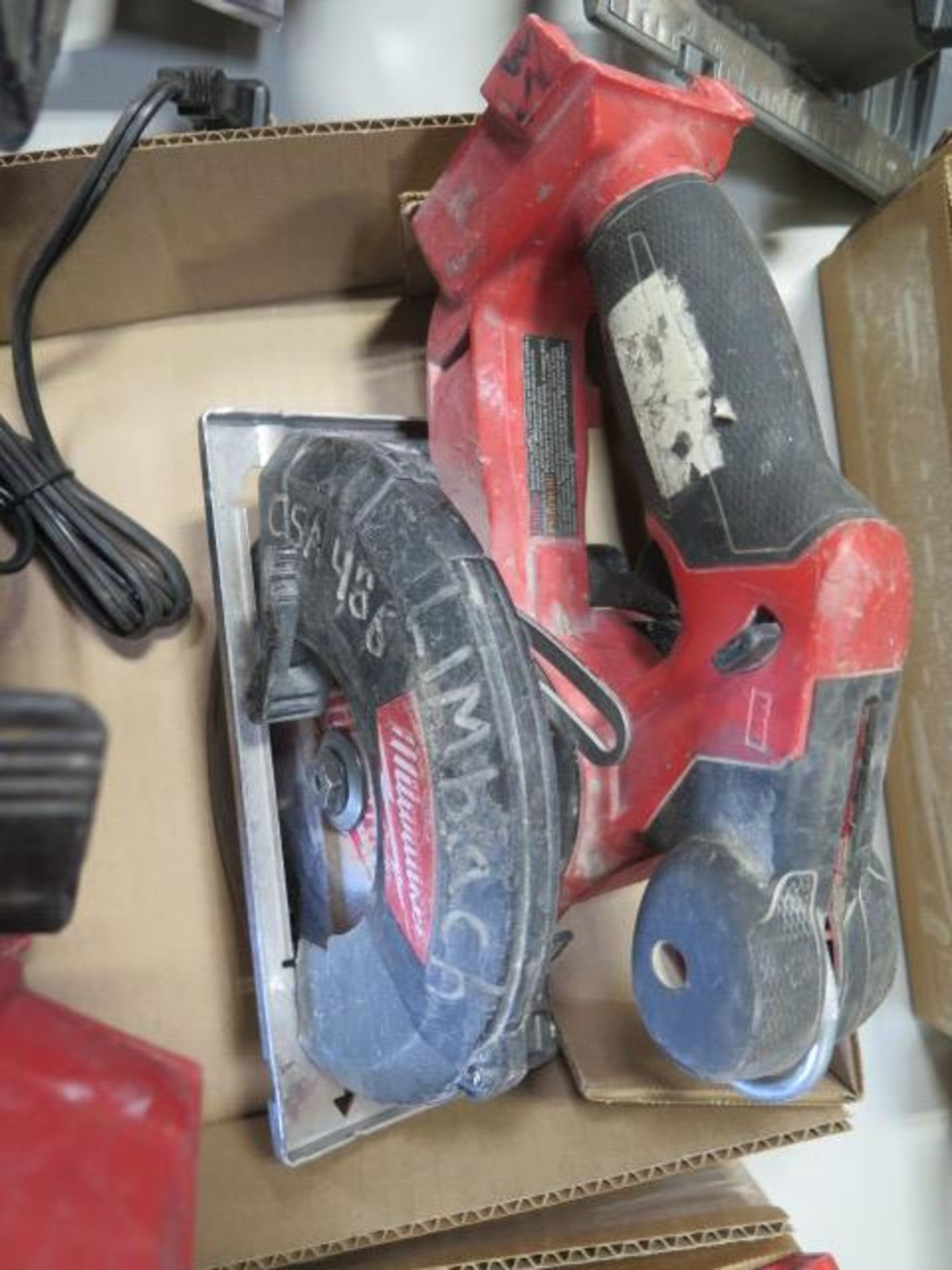 Milwaukee 18 Volt Circular Saws (3) (SOLD AS-IS - NO WARRANTY) - Image 4 of 5