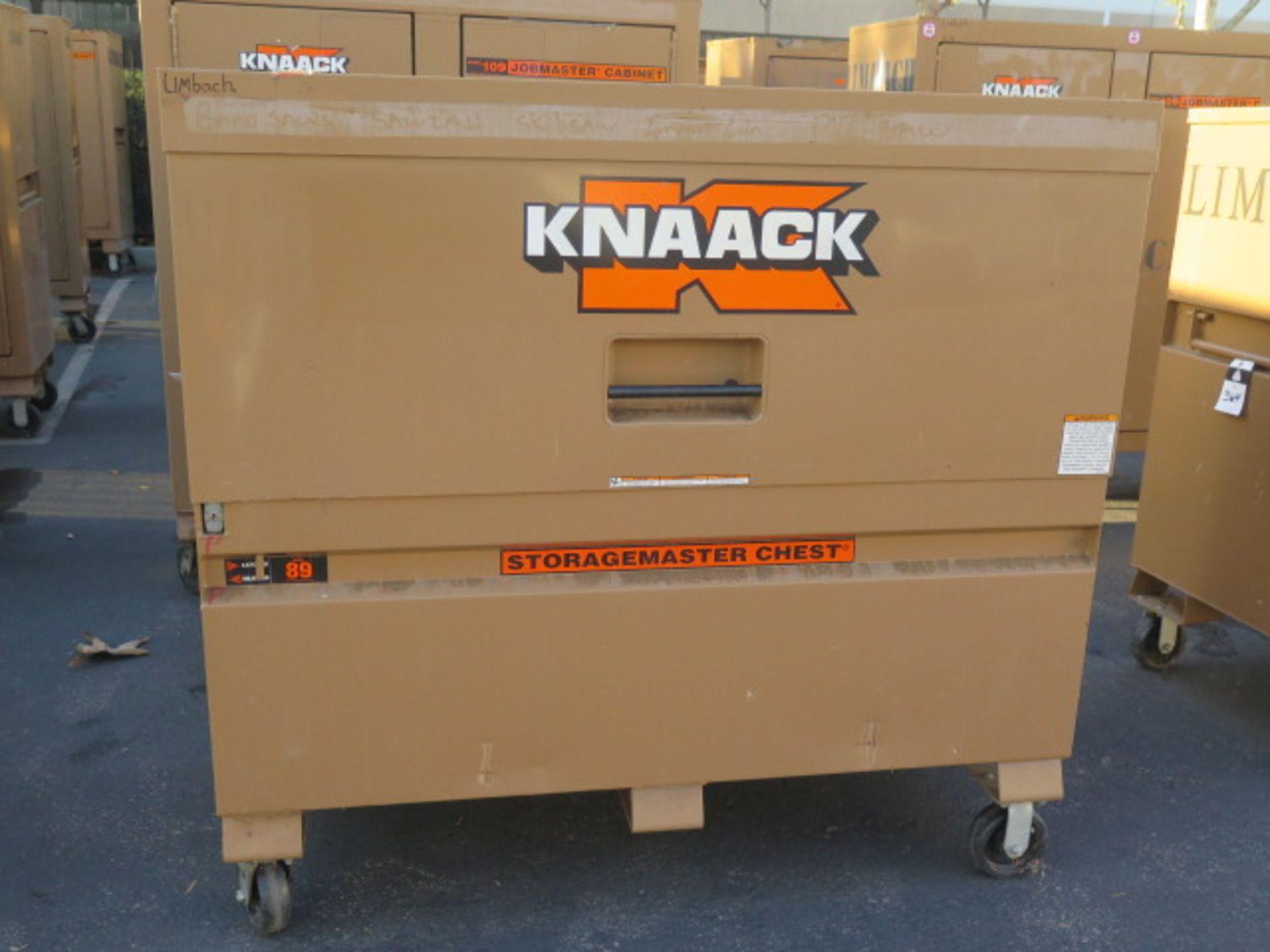 Knaack mdl. 89 Storagemaster Rolling Job Box (SOLD AS-IS - NO WARRANTY)
