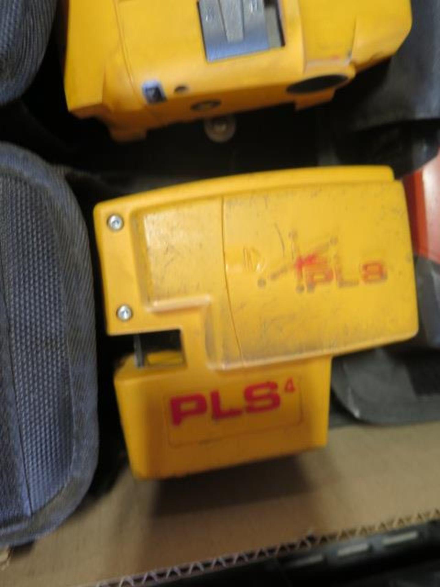 Hilti PM2-P Plumb Laser, Fluke PLS 5G 5-Point Laser Level and Fluke PLS 4 4-Point SOLD AS IS - Image 5 of 5
