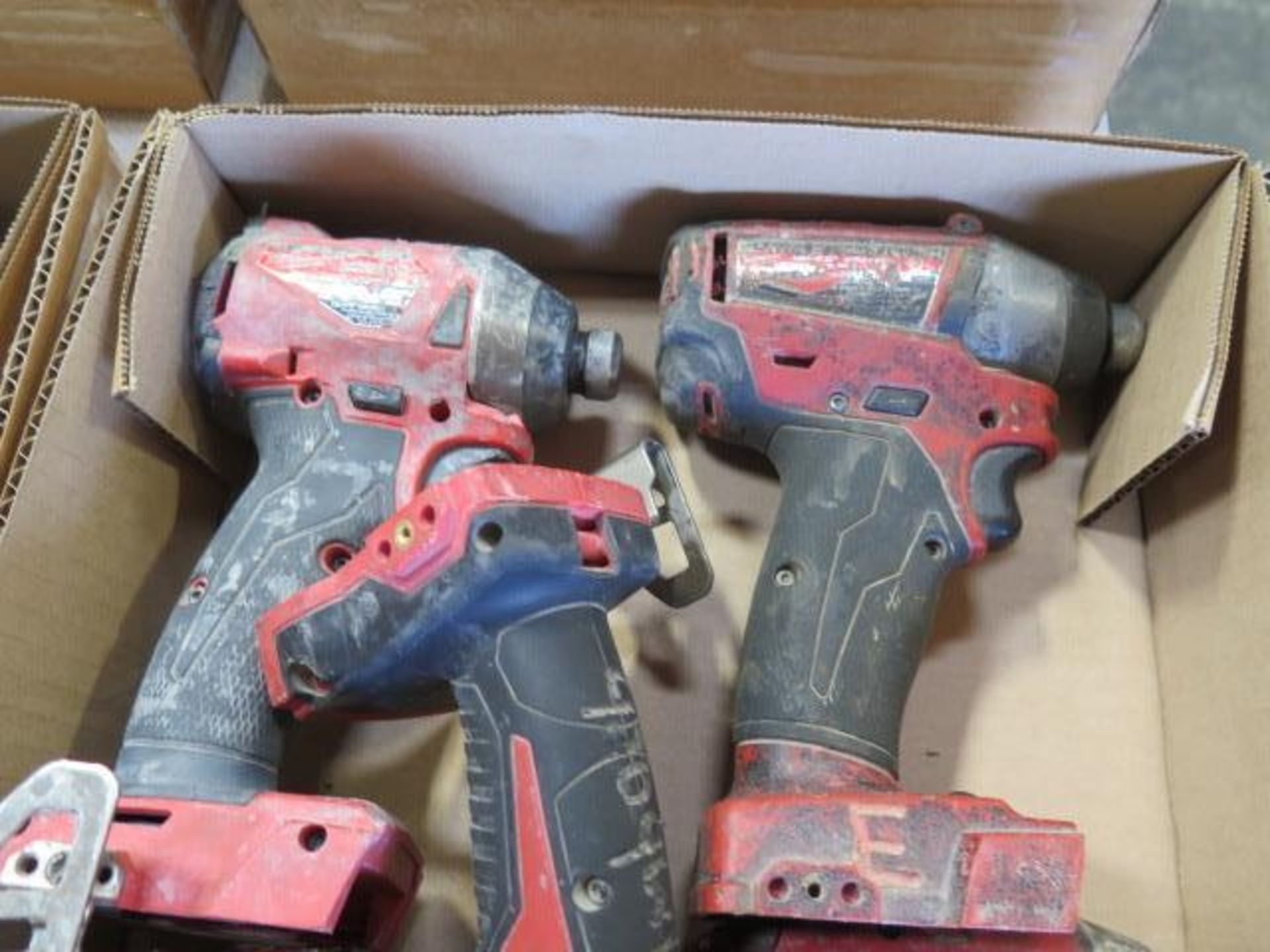 """Milwaukee 18 Volt 1/4"""" Nut Drivers (5) (SOLD AS-IS - NO WARRANTY) - Image 3 of 4"""