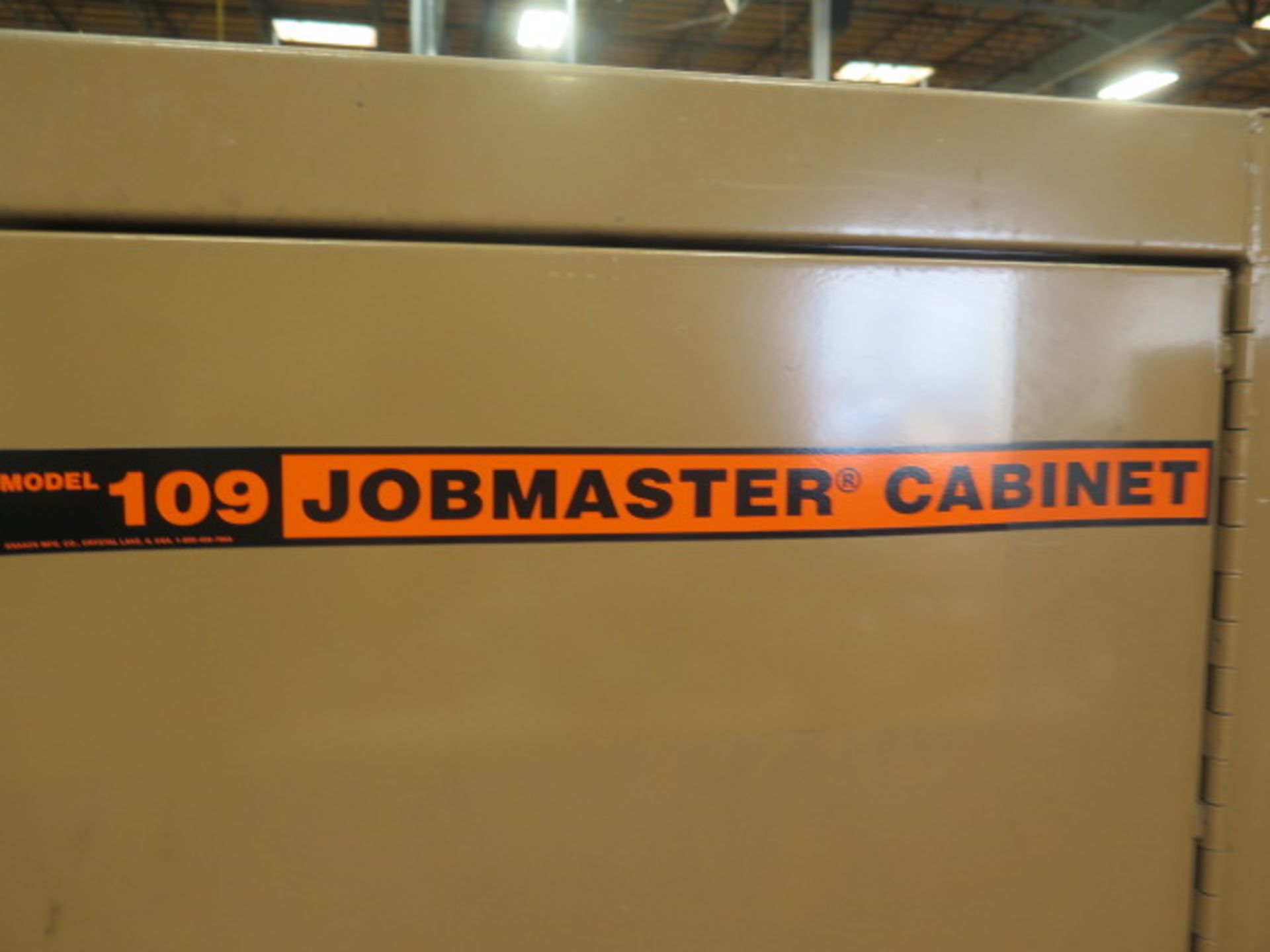 Welding Wire, Welding Guns and Misc Supplies w/ Knaack mdl. 109 Jobmaster Rolling Job Box (SOLD AS- - Image 15 of 16
