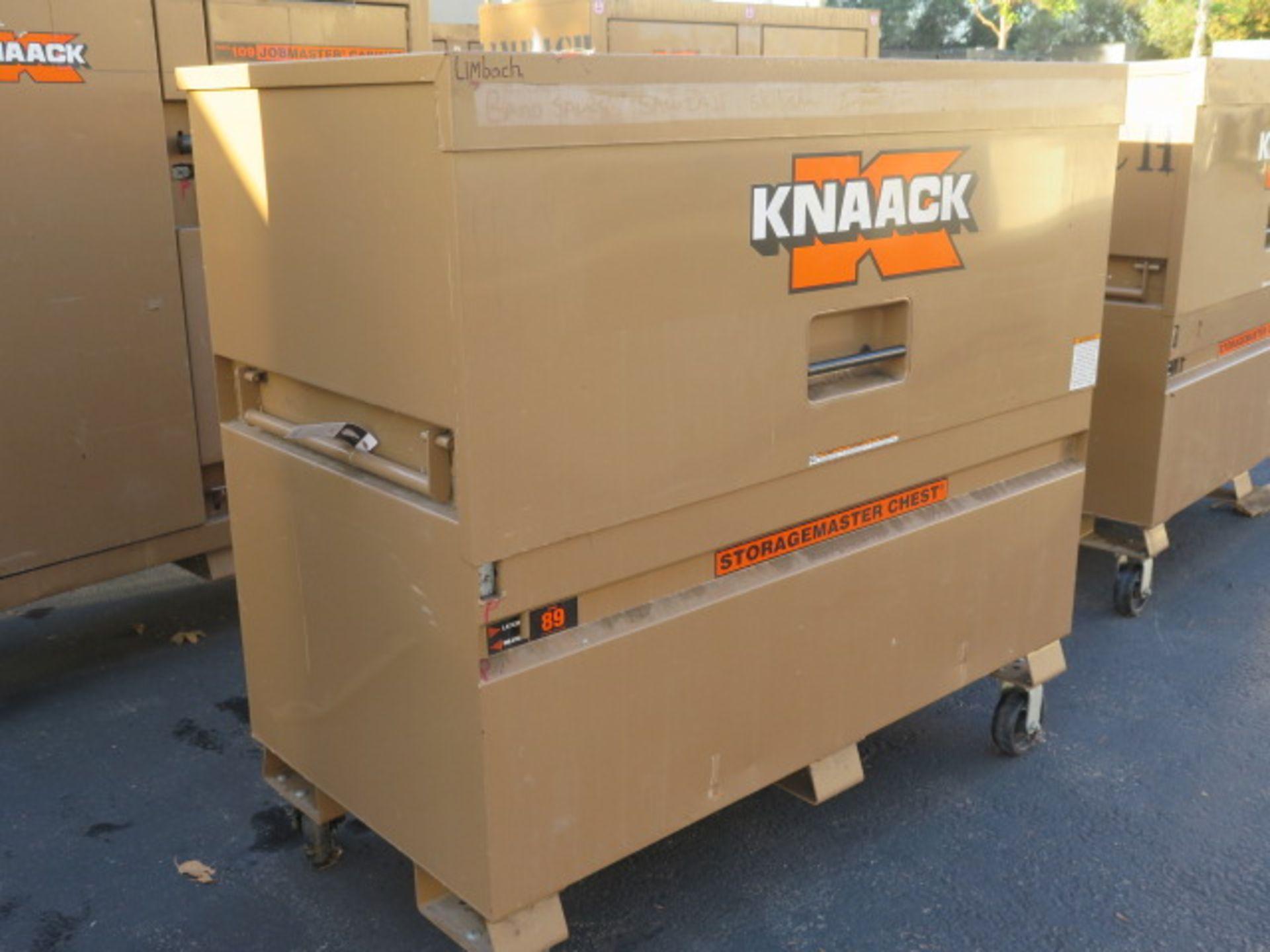 Knaack mdl. 89 Storagemaster Rolling Job Box (SOLD AS-IS - NO WARRANTY) - Image 2 of 11