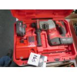 Milwaukee 18 Volt Rotary Hammer (SOLD AS-IS - NO WARRANTY)