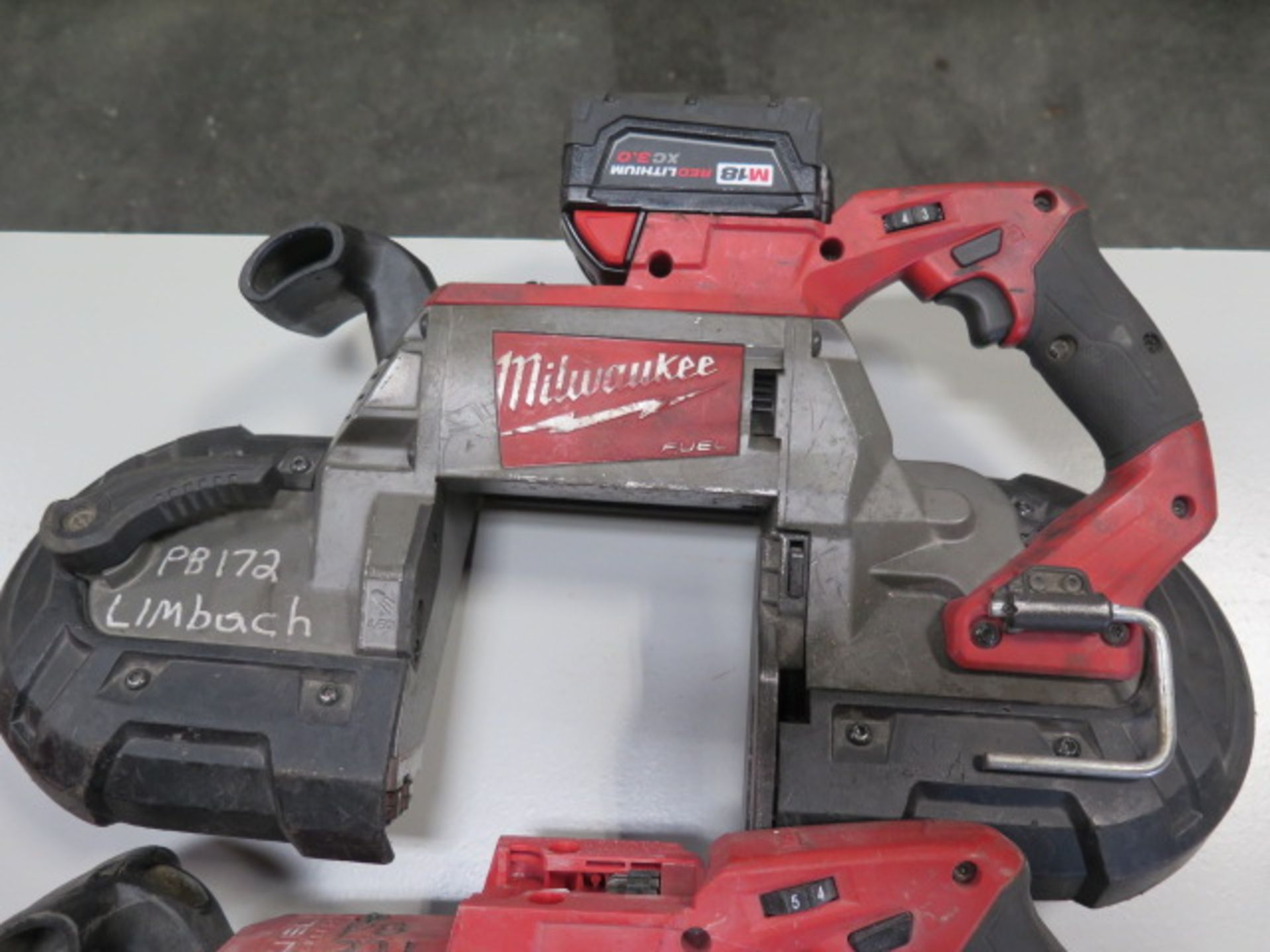 Milwaukee 18 Volt Portable Band Saws (3) (SOLD AS-IS - NO WARRANTY) - Image 5 of 7