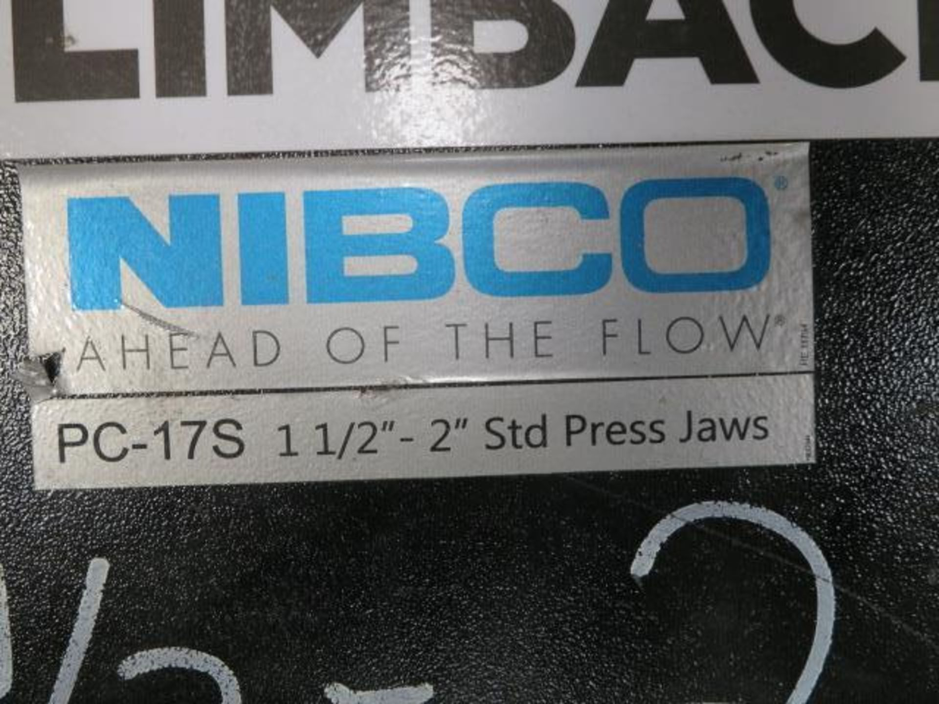 Nibco PC-16S and PC-17S Pressing Tool Jaw Sets (SOLD AS-IS - NO WARRANTY) - Image 4 of 6