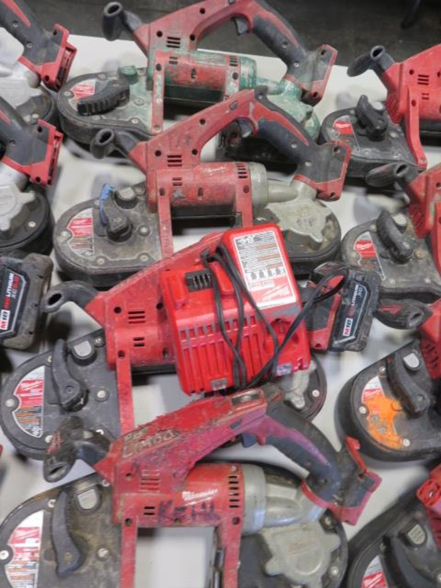 Milwaukee 18 Volt Compact Portable Band Saws (4) (SOLD AS-IS - NO WARRANTY) - Image 2 of 7