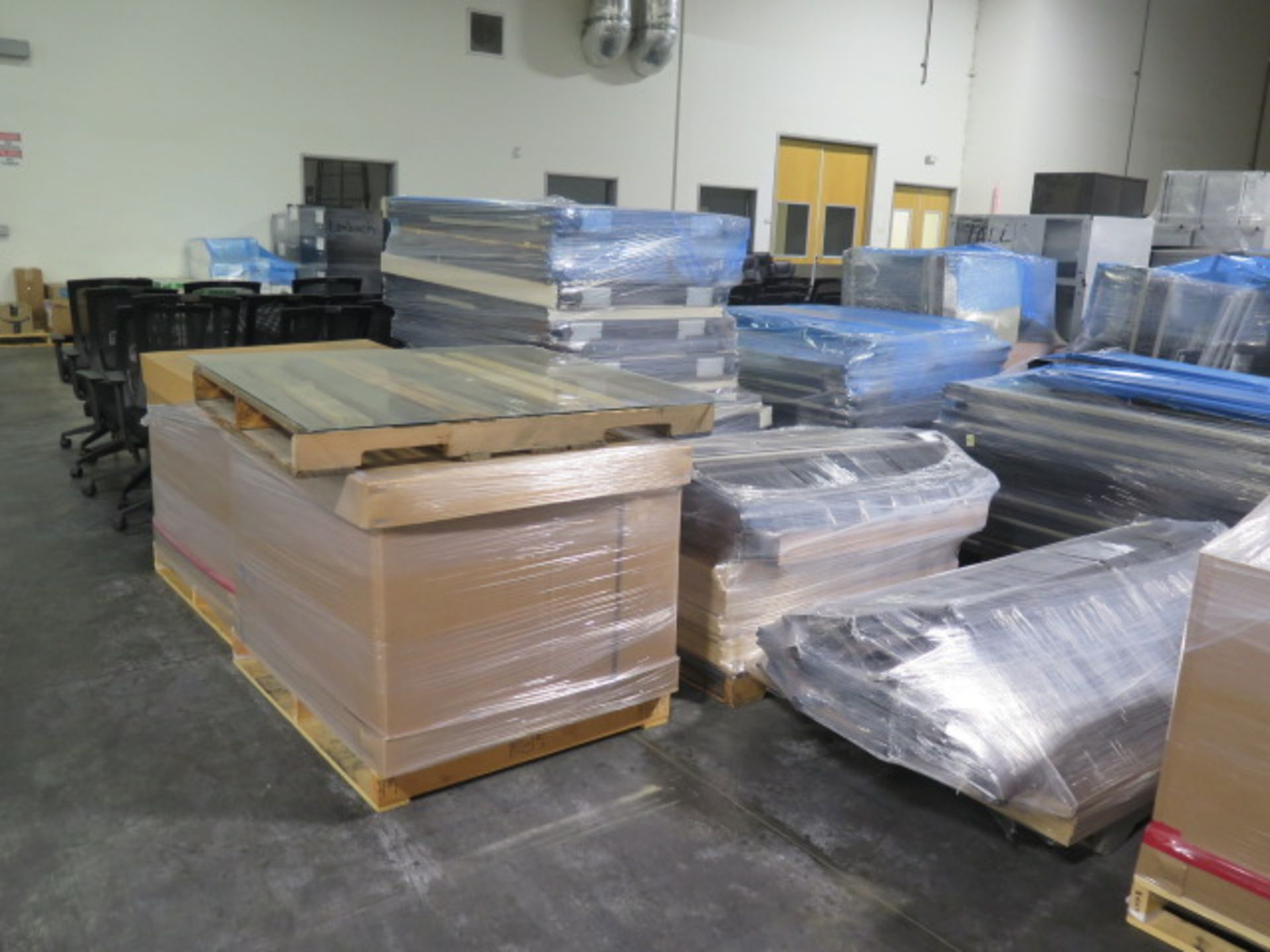 Large Quantity of Office Partitions, Desks, File Cabinets and Storage Cabinets (SOLD AS-IS - NO WARA - Image 15 of 24