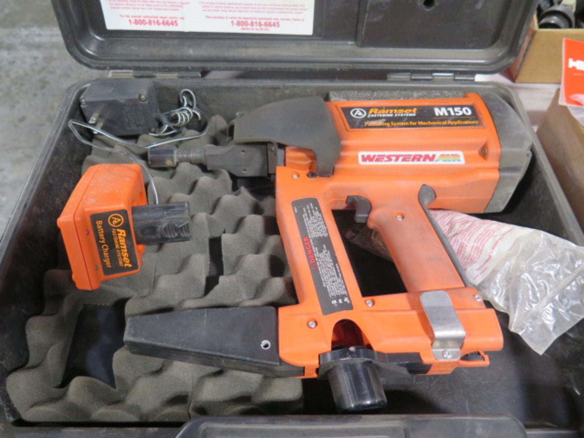 Ramset mdl. M150 Gss Powered Piston Type Fastening Gun w/ Magazine Feed (SOLD AS-IS - NO WARRANTY)