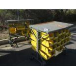 Acro-Bin Parts Carts (2) (SOLD AS-IS - NO WARRANTY)