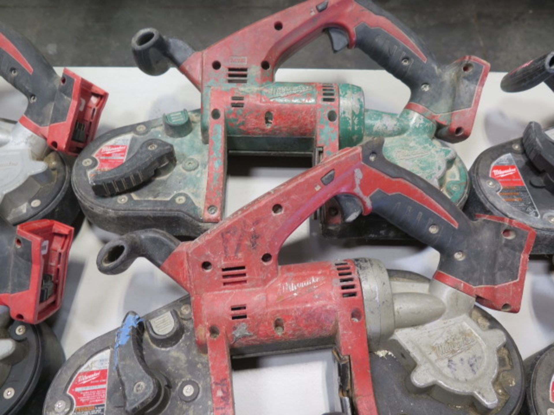 Milwaukee 18 Volt Compact Portable Band Saws (4) (SOLD AS-IS - NO WARRANTY) - Image 6 of 7