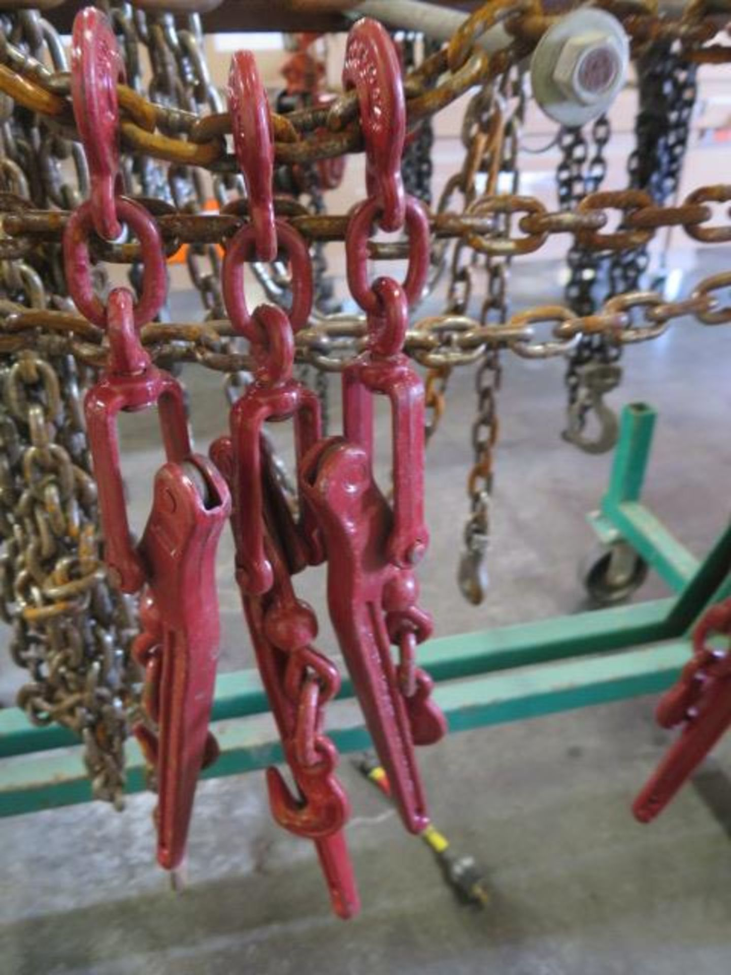 Chain Come-Alongs (4), Chain Tensioners (6) Chain and Cart (SOLD AS-IS - NO WARRANTY) - Image 6 of 11