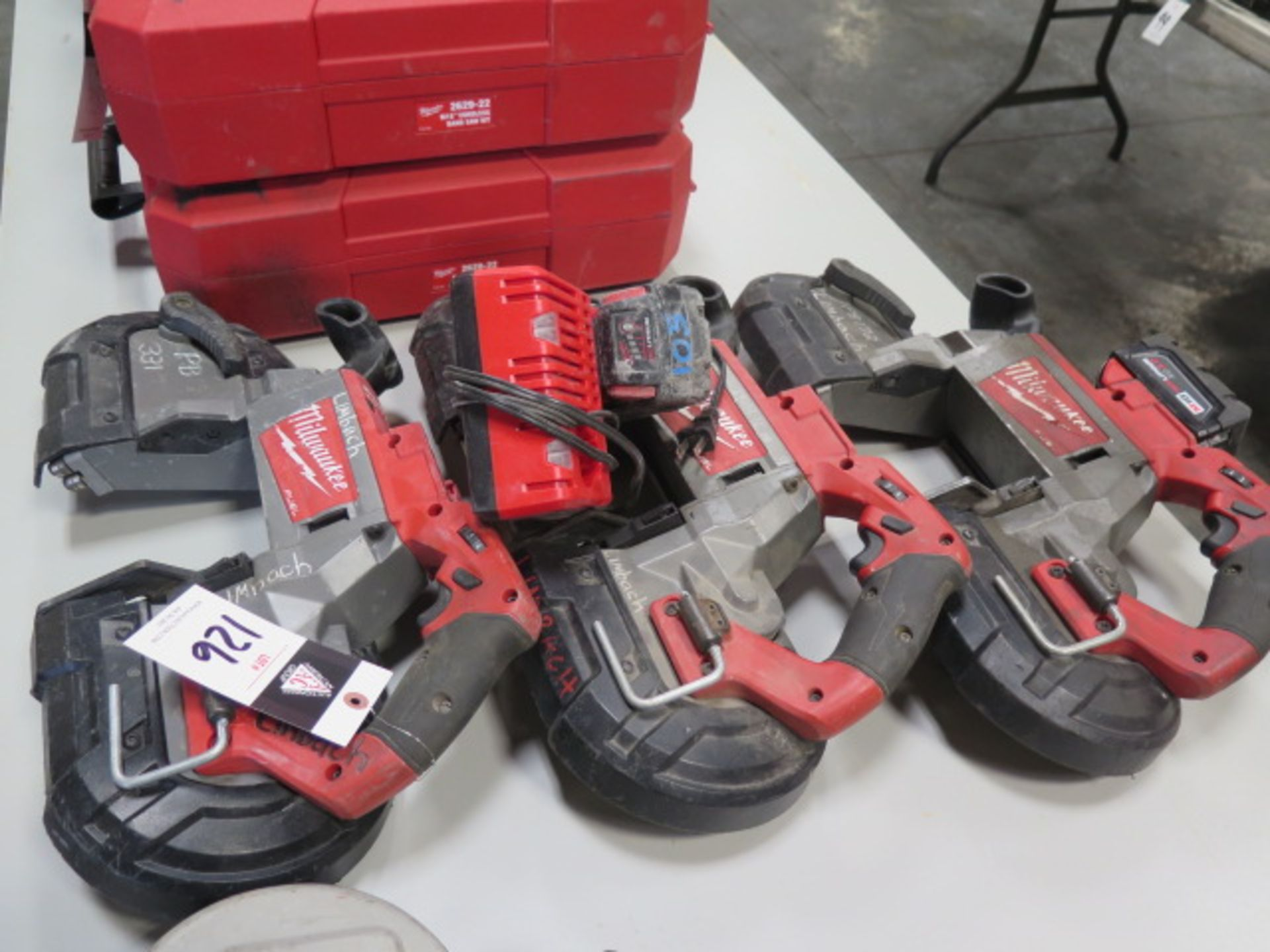 Milwaukee 18 Volt Portable Band Saws (3) (SOLD AS-IS - NO WARRANTY) - Image 2 of 7