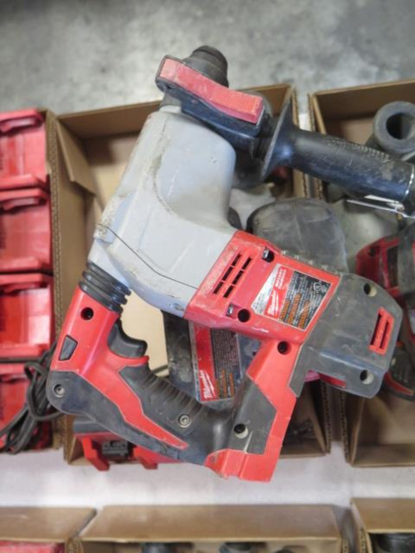 Milwaukee 18 Volt Rotary Hammers (3) (SOLD AS-IS - NO WARRANTY) - Image 3 of 5