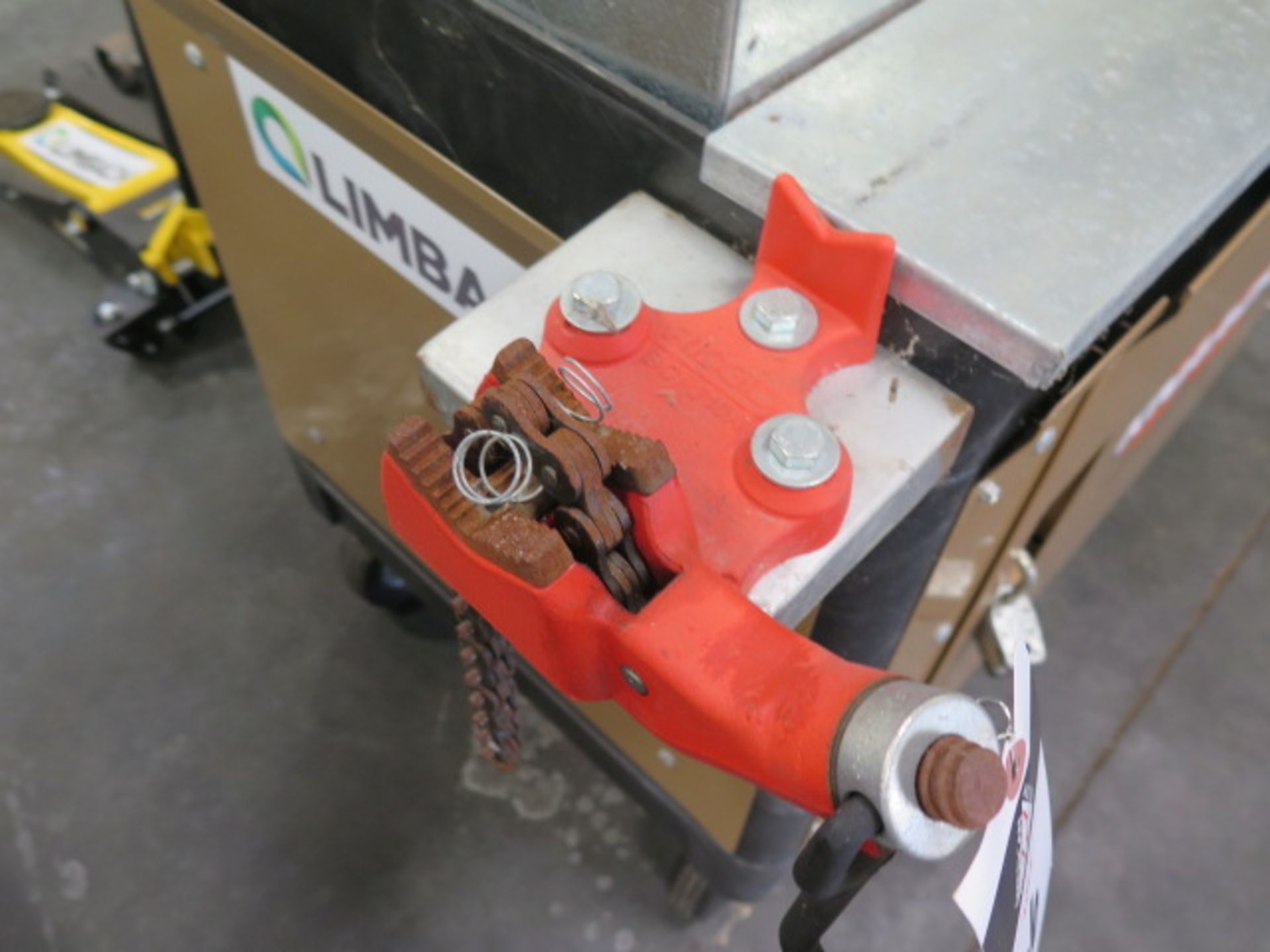 """Knaack """"Cart Armour"""" Job Cart w/ Top Box and Ridgid Pipe Vise (SOLD AS-IS - NO WARRANTY) - Image 4 of 7"""
