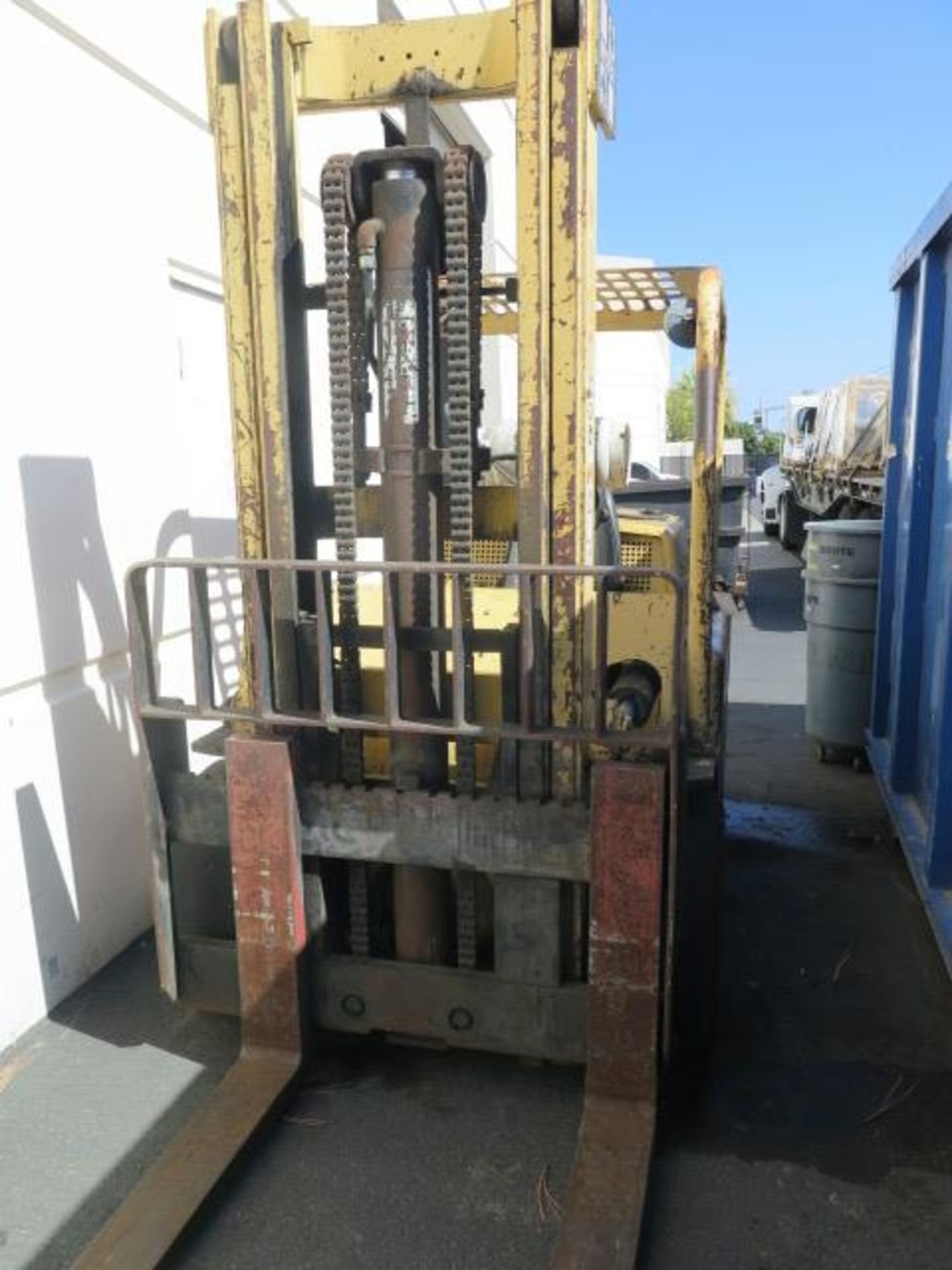 "Hyster S125A 12,500 Lb Cap LPG Forklift s/n A024DC4389A w/ 2-Stage Mast, 129"" Lift Height, 2-Speed T - Image 10 of 14"