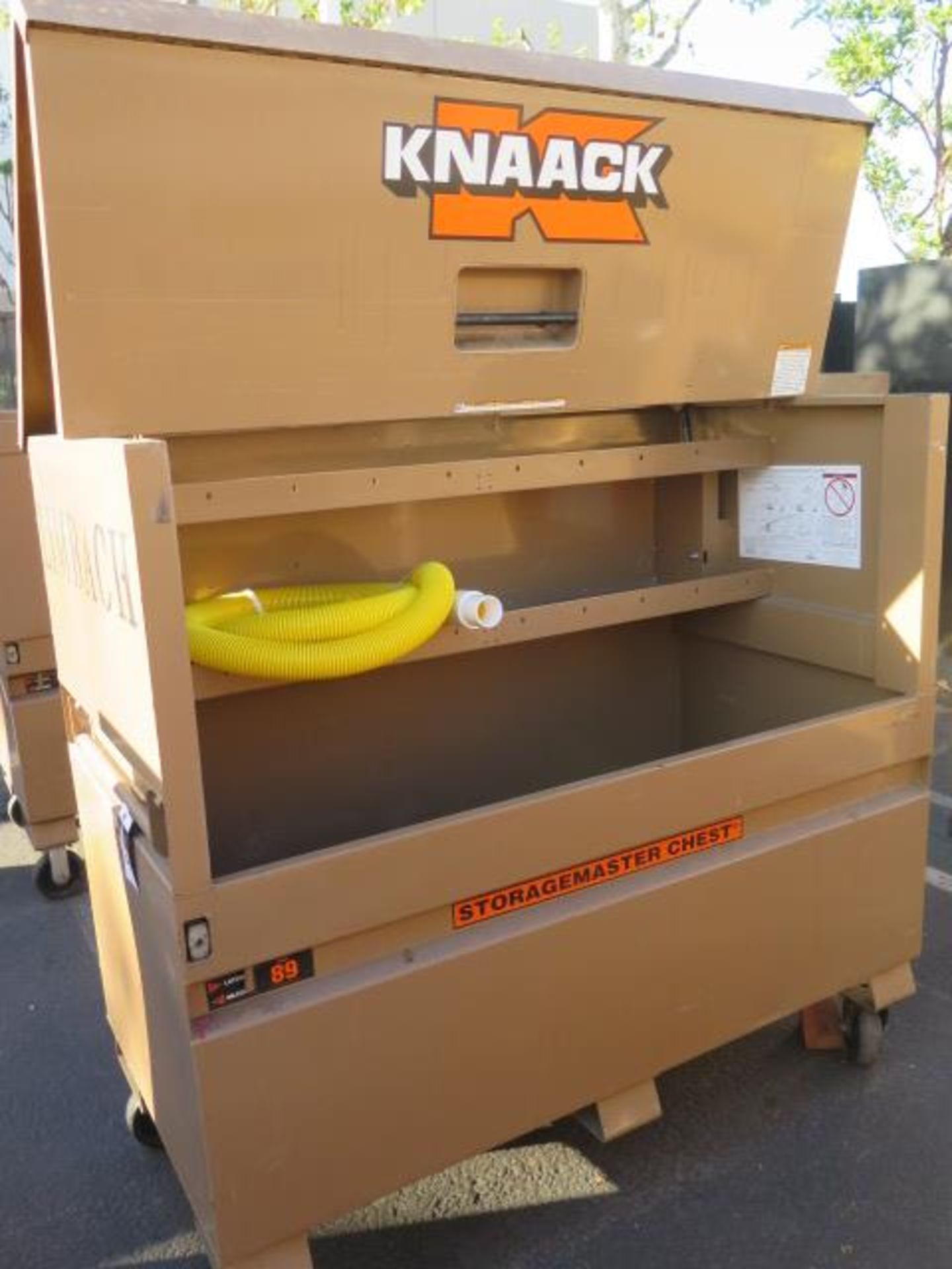 Knaack mdl. 89 Storagemaster Rolling Job Box (SOLD AS-IS - NO WARRANTY) - Image 4 of 9