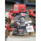 Milwaukee 18 Volt Circular Saws (3) (SOLD AS-IS - NO WARRANTY)