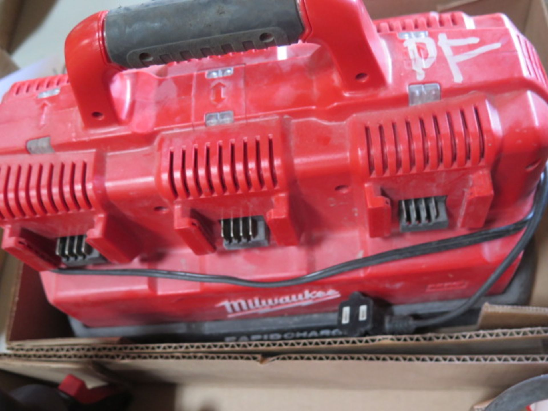 Milwaukee Battery Charger (SOLD AS-IS - NO WARRANTY) - Image 4 of 4