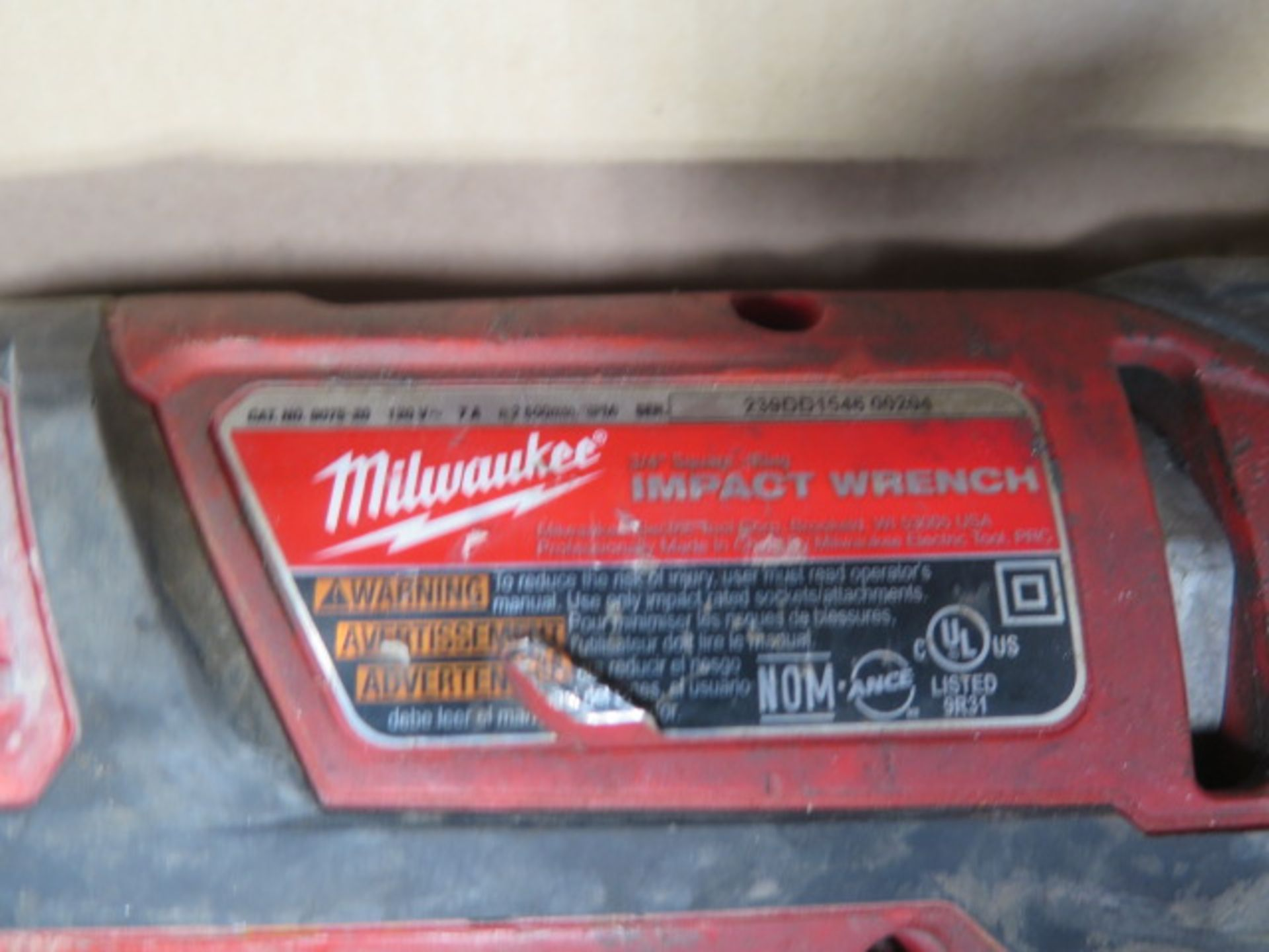 """Milwaukee 3/4"""" Electric Impacts (2) (SOLD AS-IS - NO WARRANTY) - Image 5 of 5"""