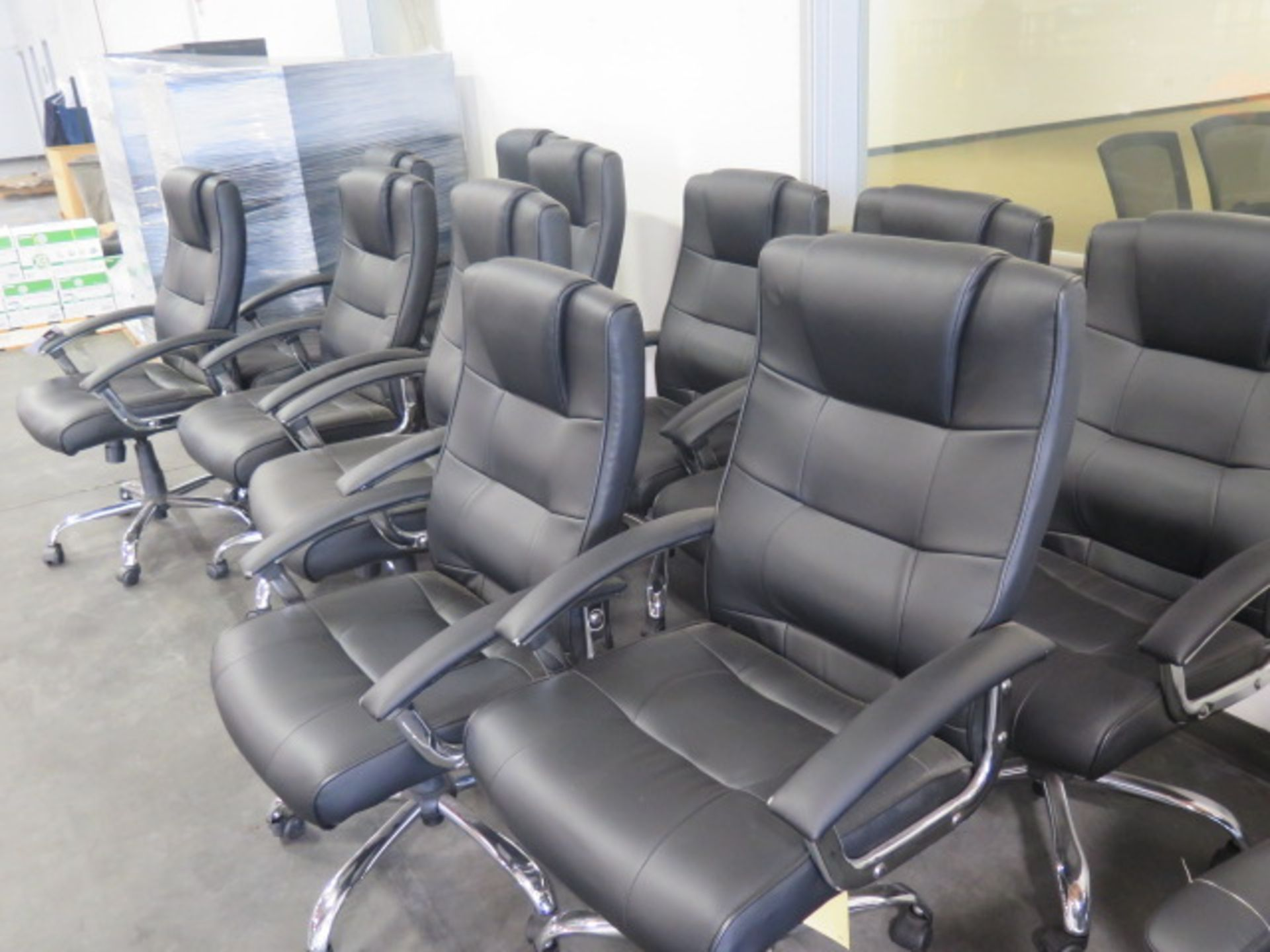 Conference / Office Chairs (11) (SOLD AS-IS - NO WARRANTY) - Image 3 of 4
